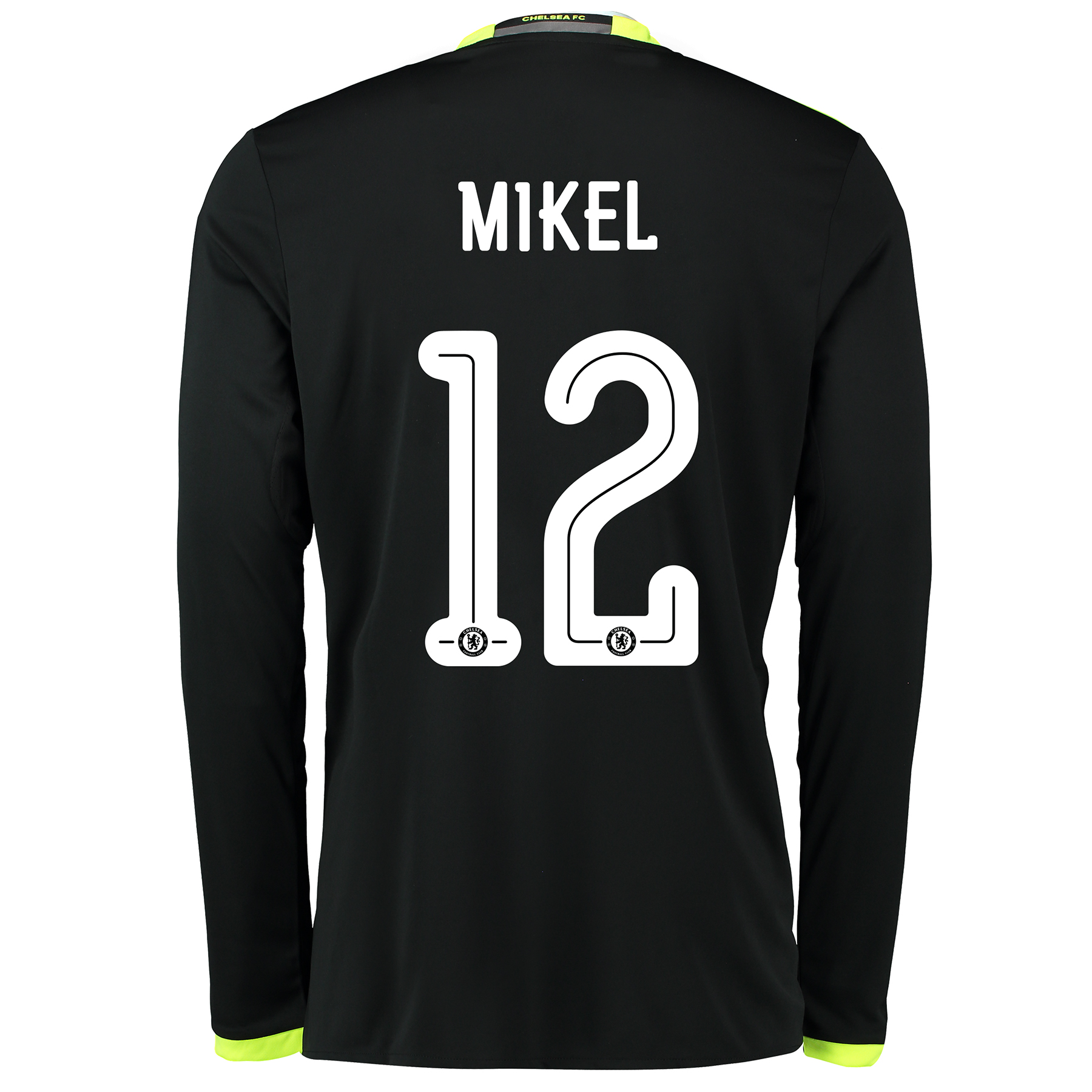 Chelsea Linear Away Shirt 16-17 - Kids - Long Sleeve with Mikel 12 pri