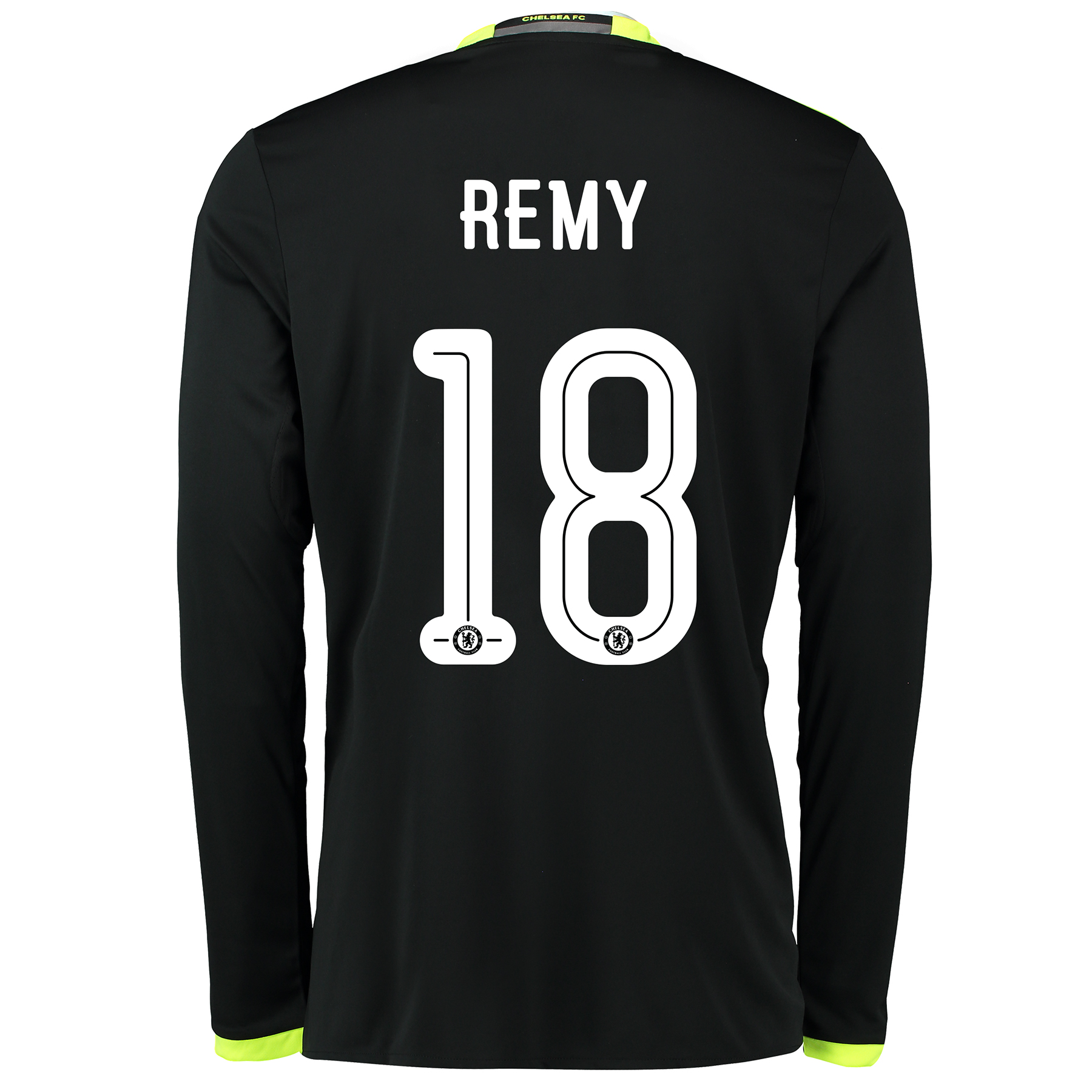 Chelsea Linear Away Shirt 16-17 - Kids - Long Sleeve with Remy 18 prin