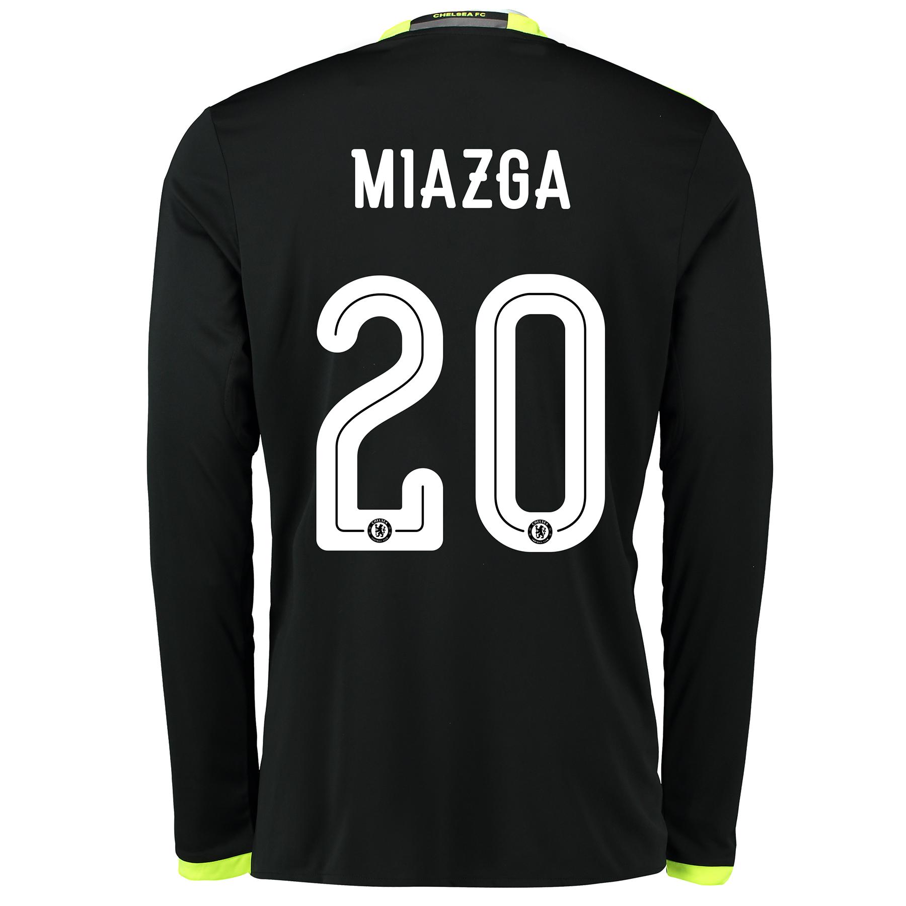 Chelsea Linear Away Shirt 16-17 - Kids - Long Sleeve with Miazga 20 pr