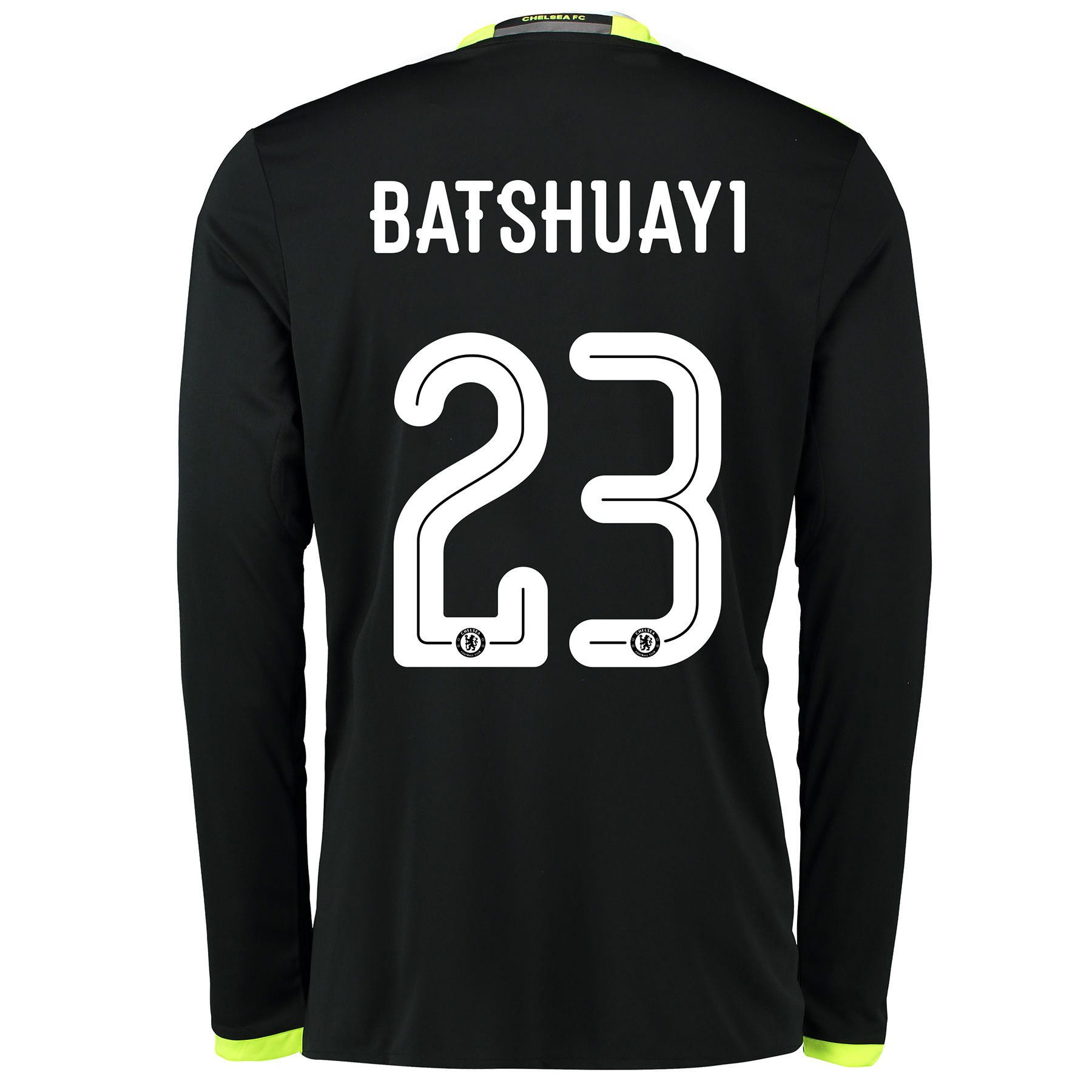Chelsea Linear Away Shirt 16-17 - Kids - Long Sleeve with Batshuayi 23