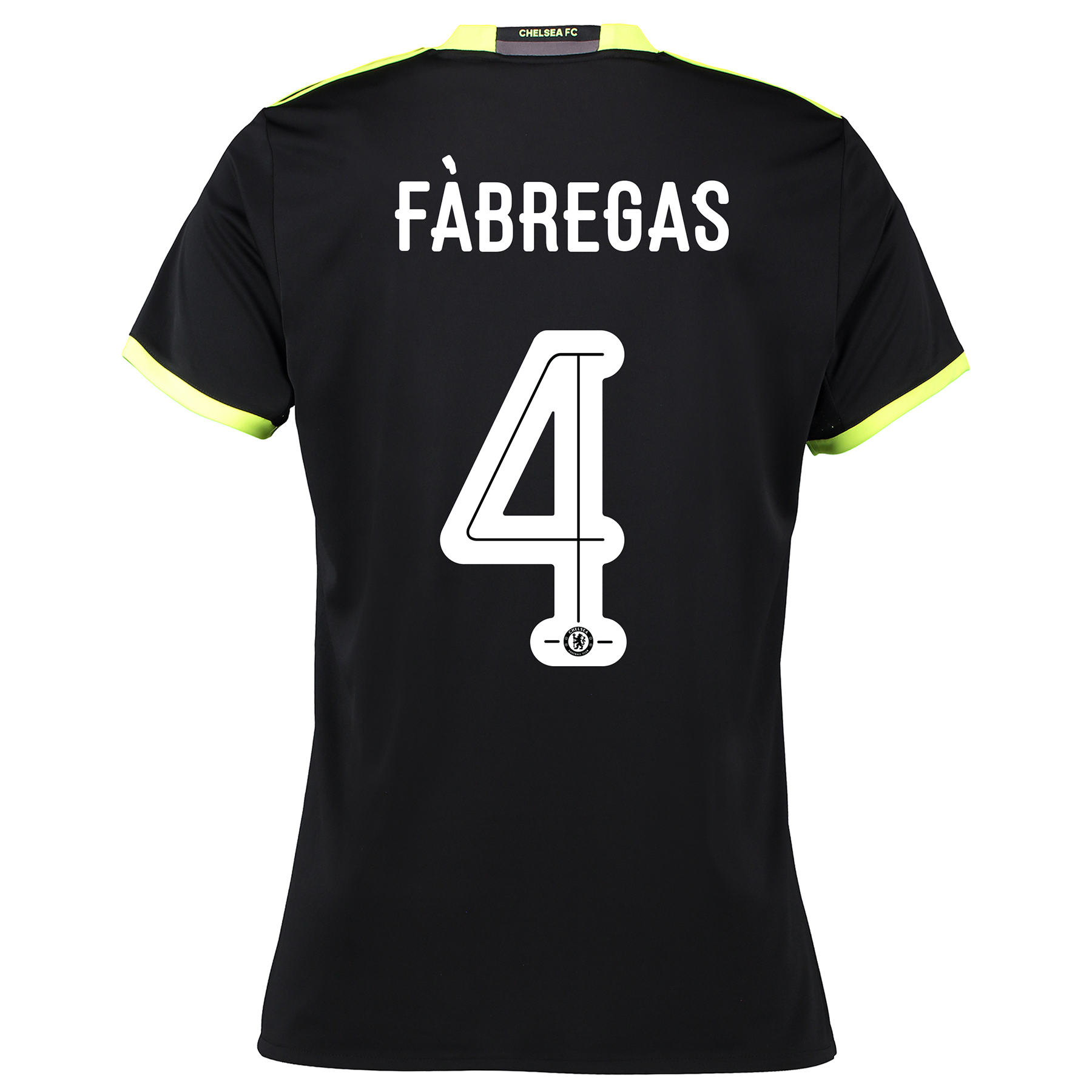 Chelsea Linear Away Shirt 16-17 - Womens with Fàbregas 4 printing