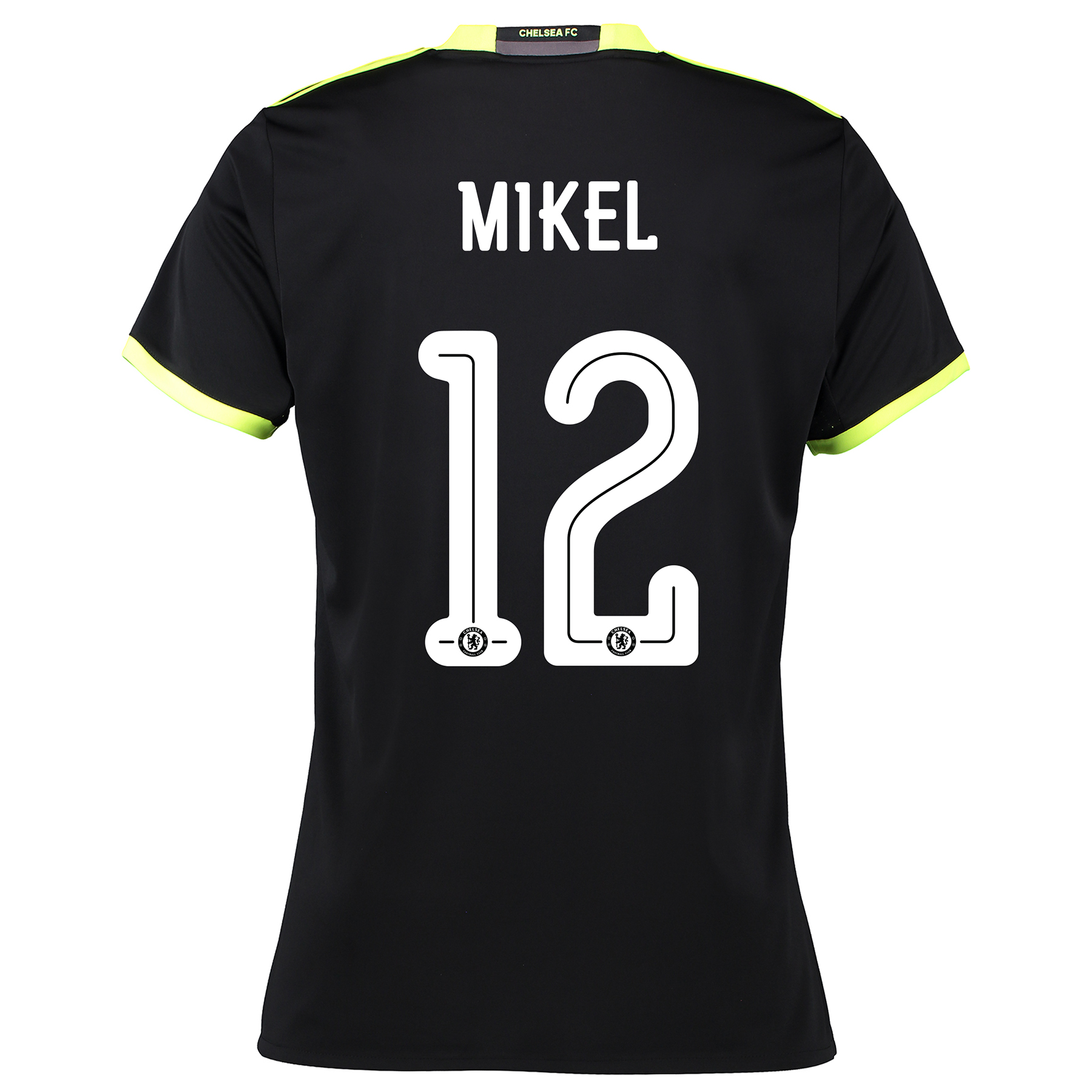 Chelsea Linear Away Shirt 16-17 - Womens with Mikel 12 printing