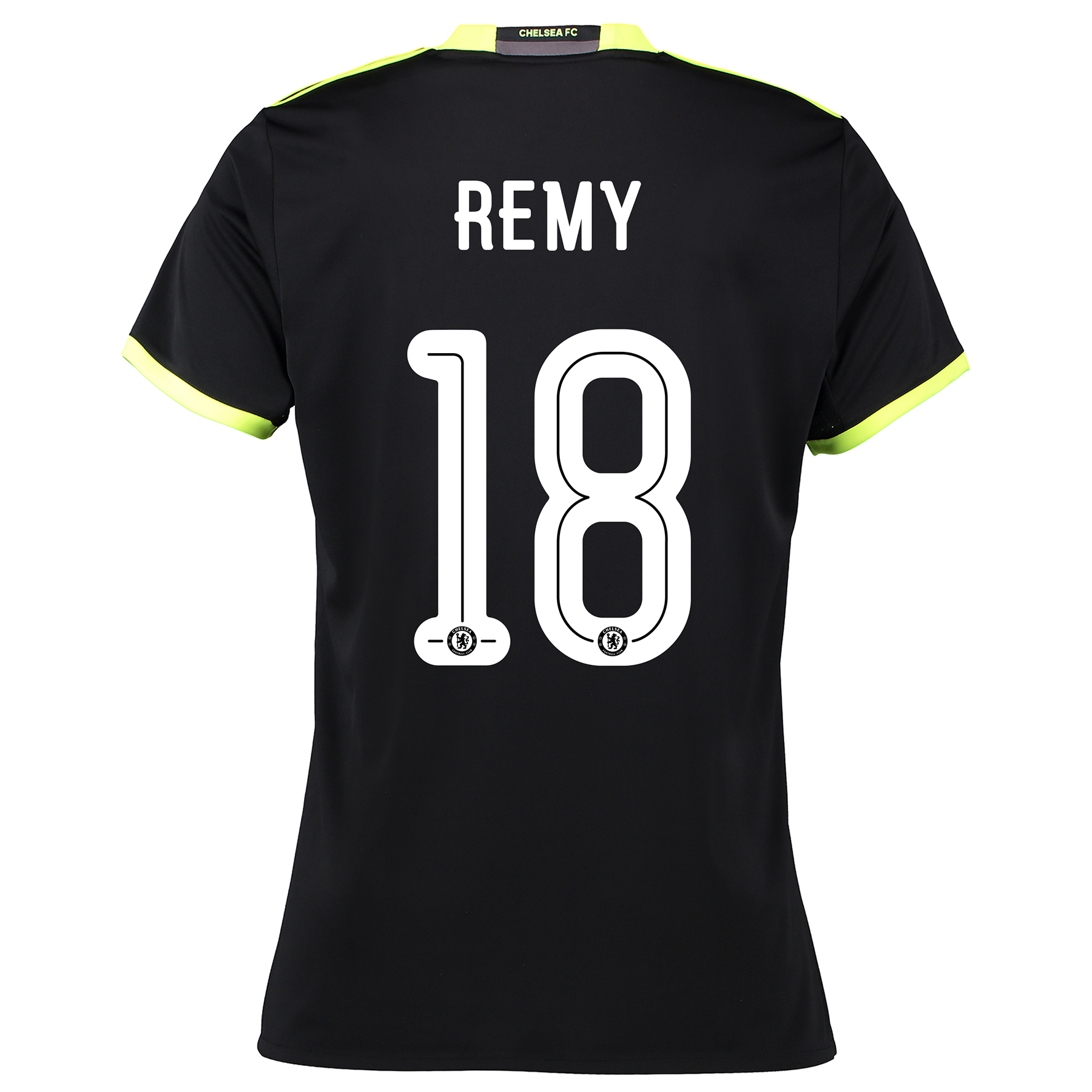 Chelsea Linear Away Shirt 16-17 - Womens with Remy 18 printing