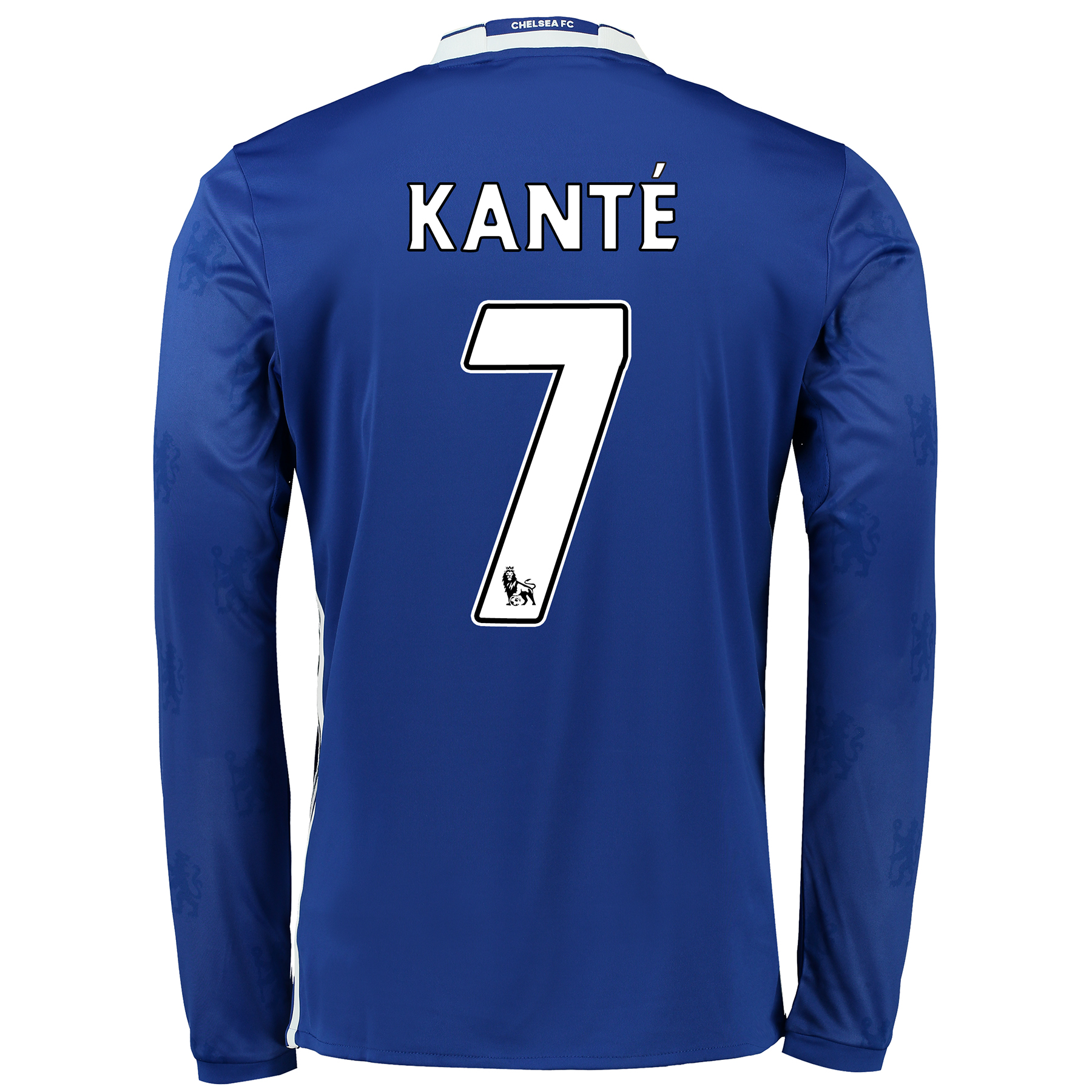 Chelsea Home Shirt 2016-17 - Long Sleeve with Kanté 7 printing