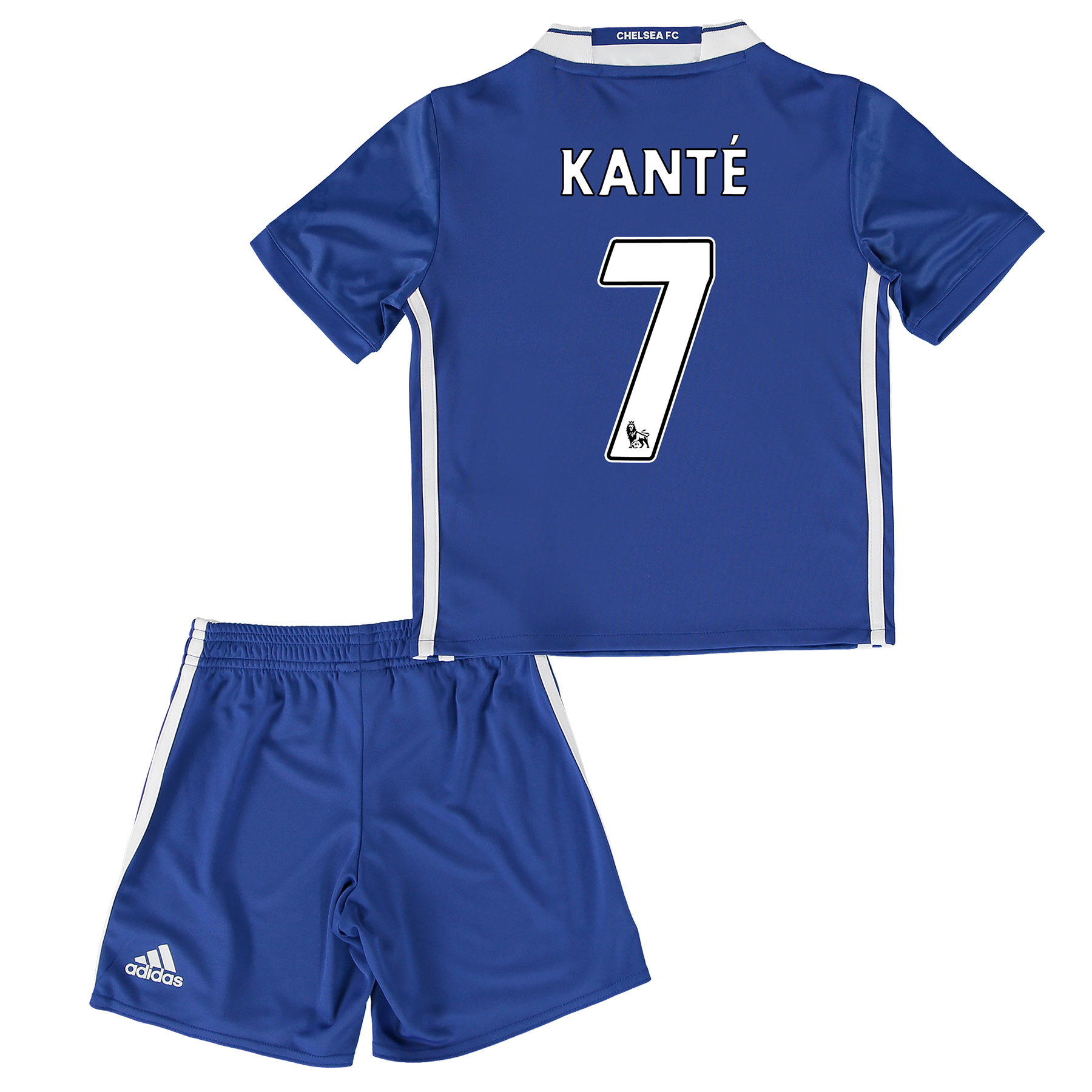 Chelsea Home Mini Kit 2016-17 with Kanté 7 printing