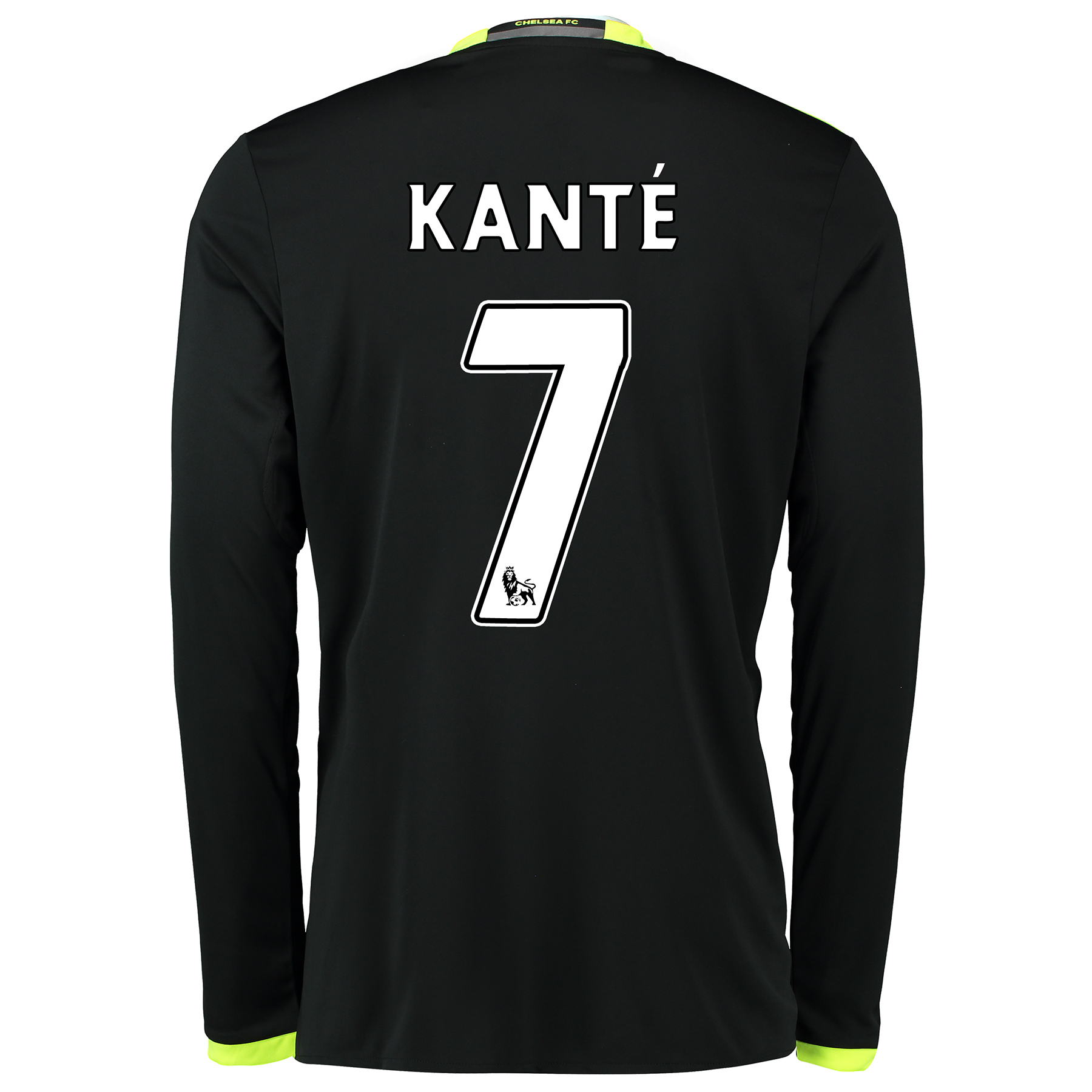 Chelsea Away Shirt 16-17 - Long Sleeve with Kanté 7 printing