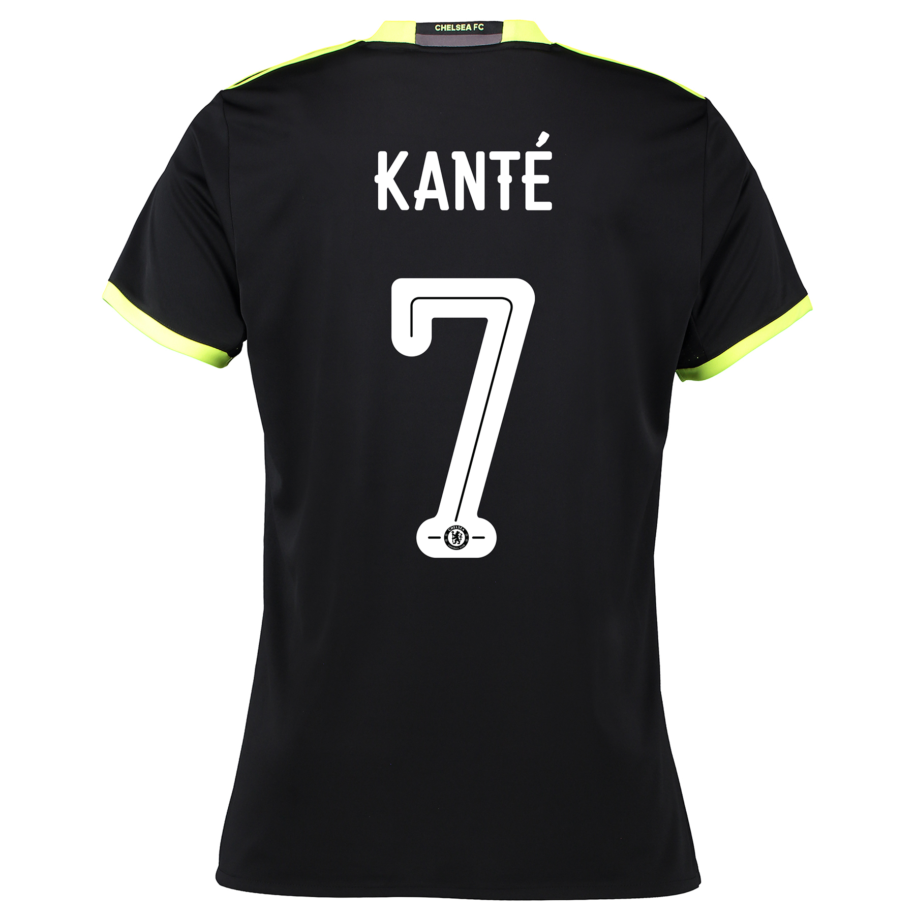 Chelsea Linear Away Shirt 16-17 - Womens with Kanté 7 printing