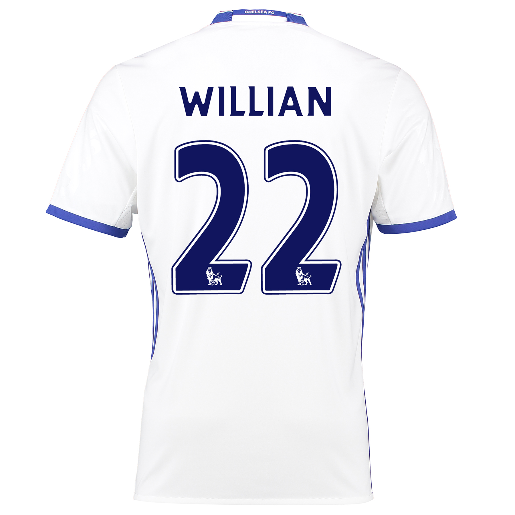 Chelsea Third Shirt 16-17 with Willian 22 printing