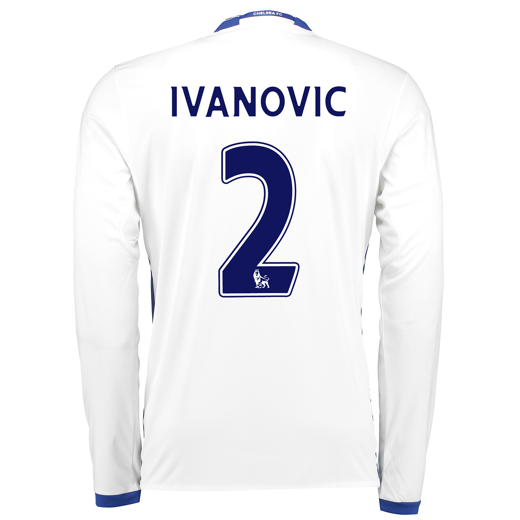 Chelsea Third Shirt 16-17 - Long Sleeve with Ivanovic 2 printing
