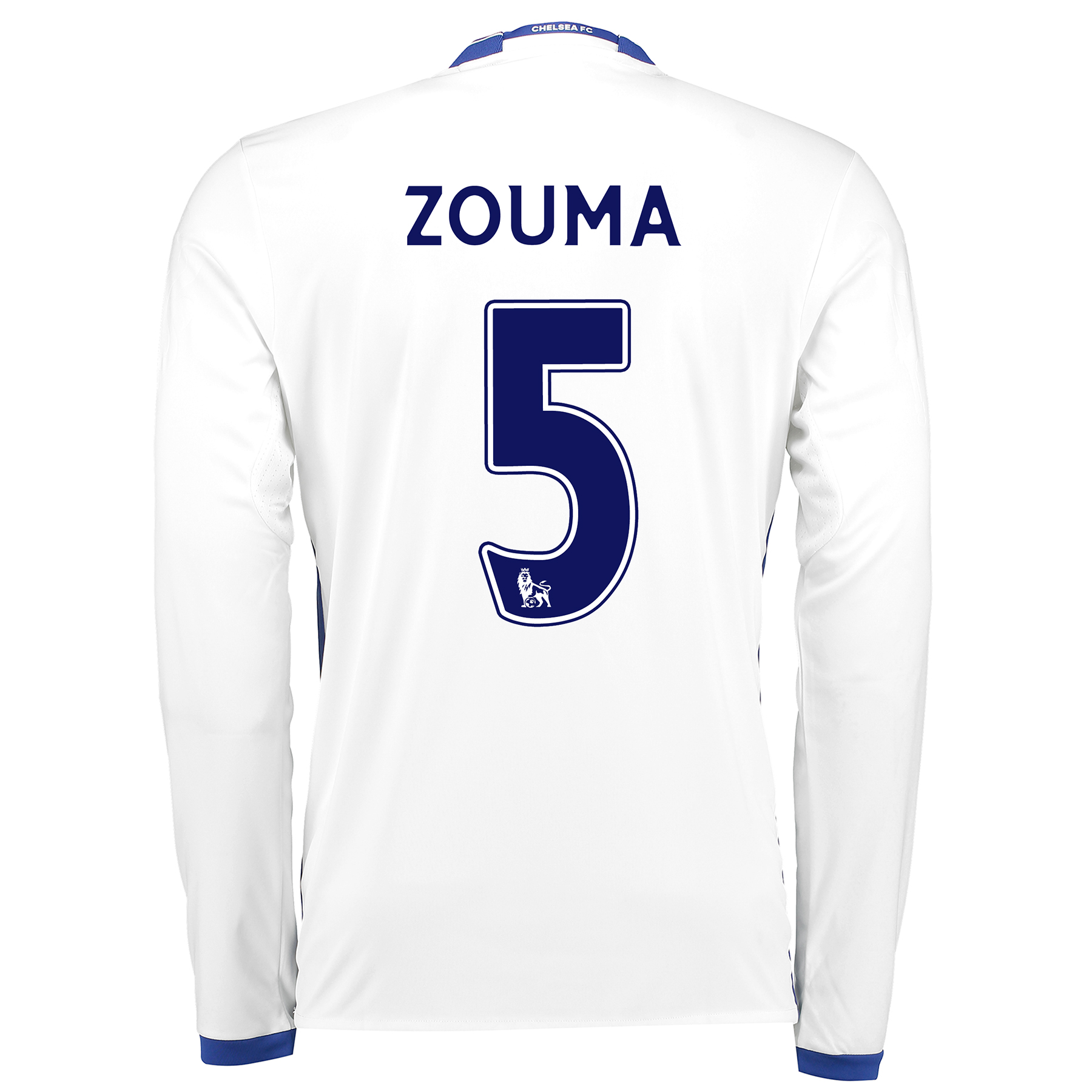 Chelsea Third Shirt 16-17 - Long Sleeve with ZOUMA 5 printing
