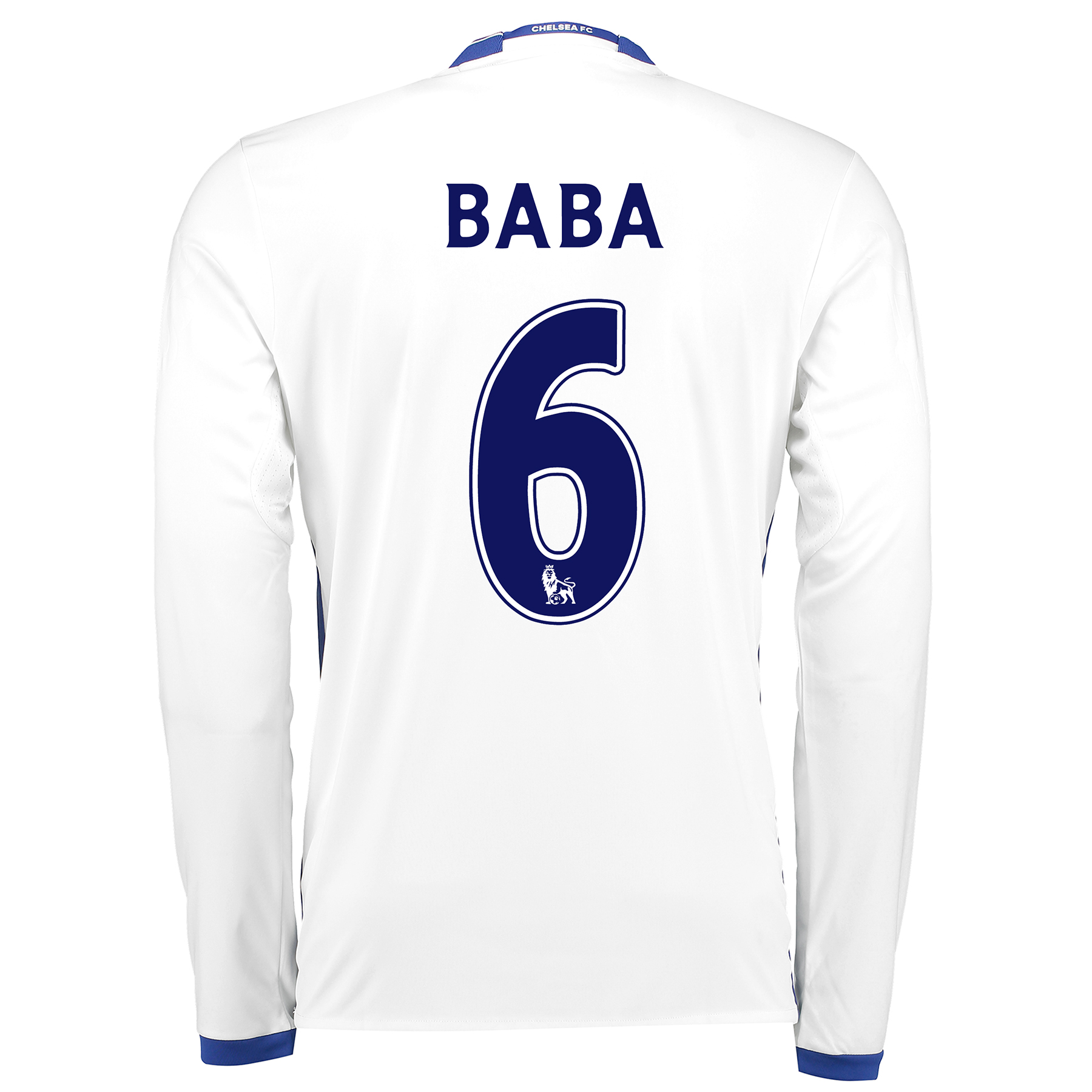 Chelsea Third Shirt 16-17 - Long Sleeve with Baba 6 printing