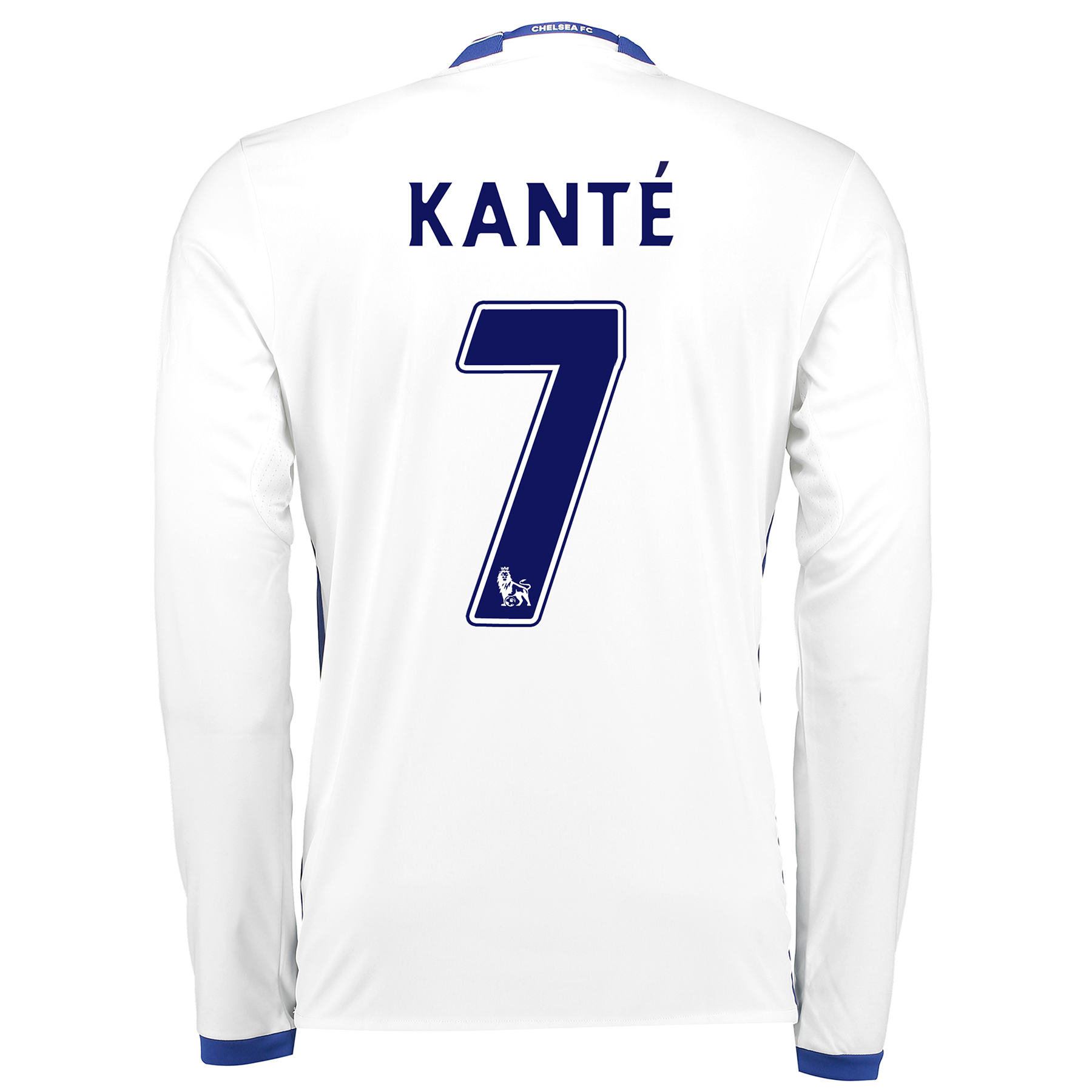 Chelsea Third Shirt 16-17 - Long Sleeve with Kanté 7 printing