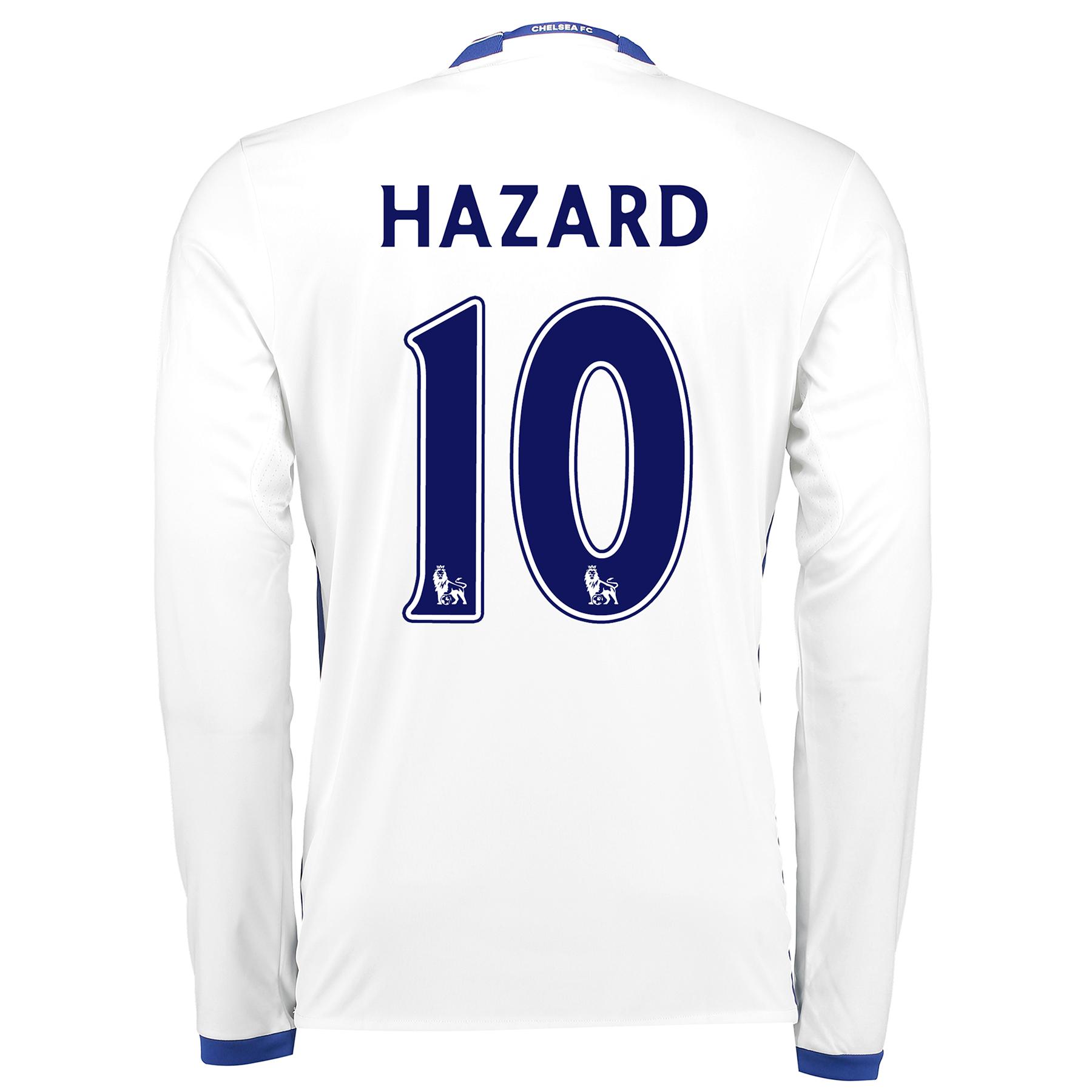 Chelsea Third Shirt 16-17 - Long Sleeve with Hazard 10 printing