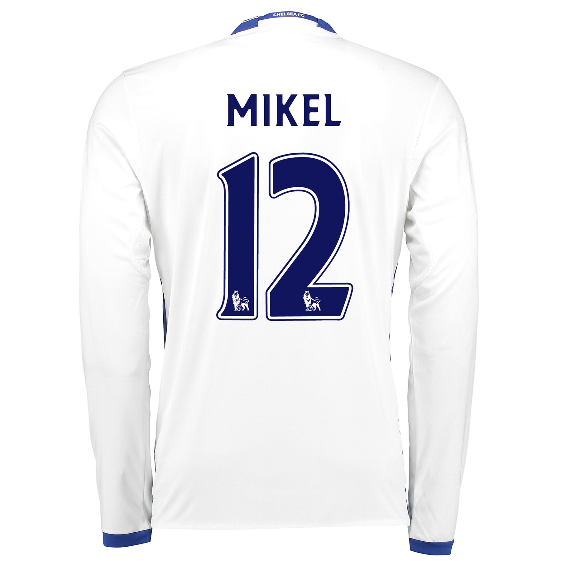 Chelsea Third Shirt 16-17 - Long Sleeve with Mikel 12 printing