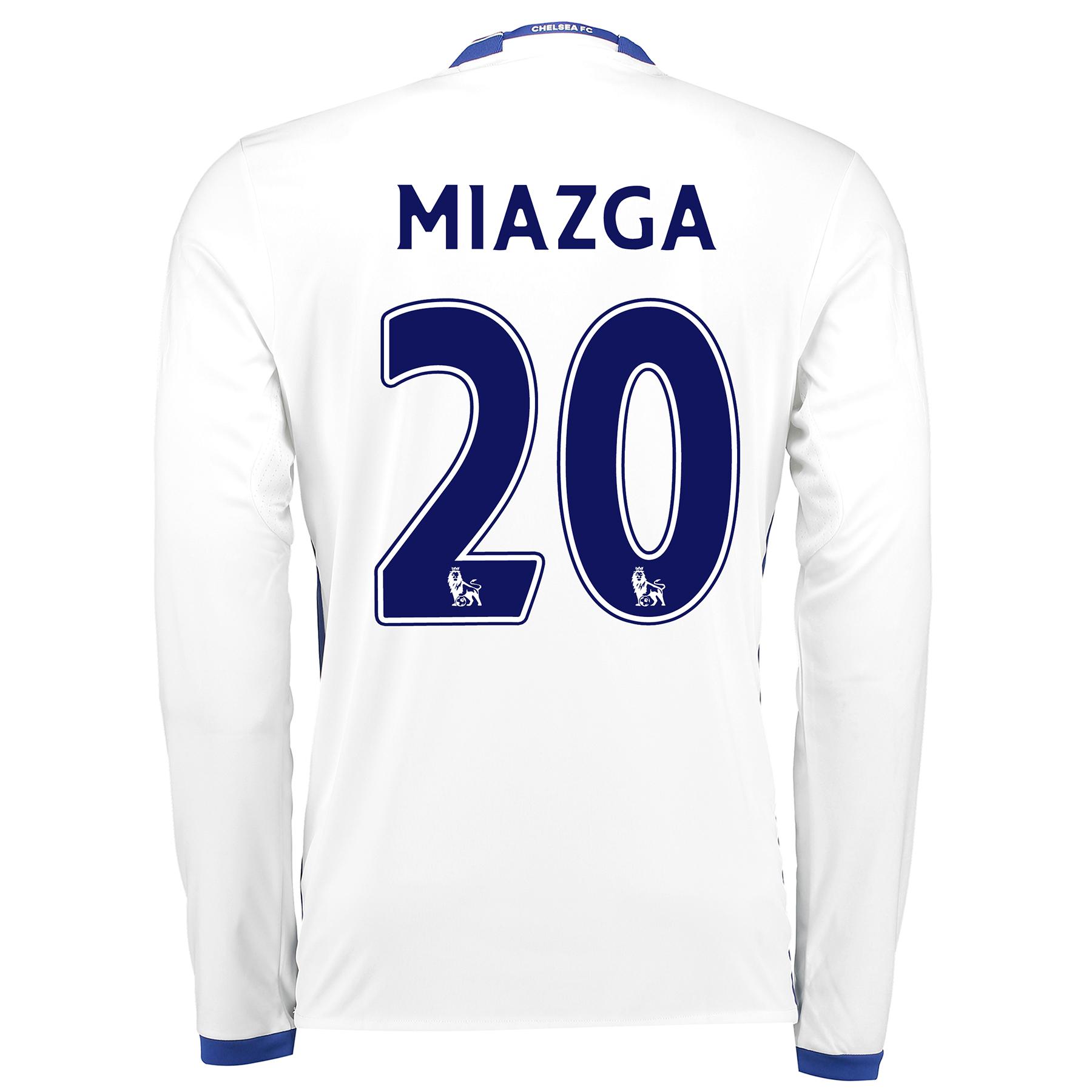 Chelsea Third Shirt 16-17 - Long Sleeve with Miazga 20 printing