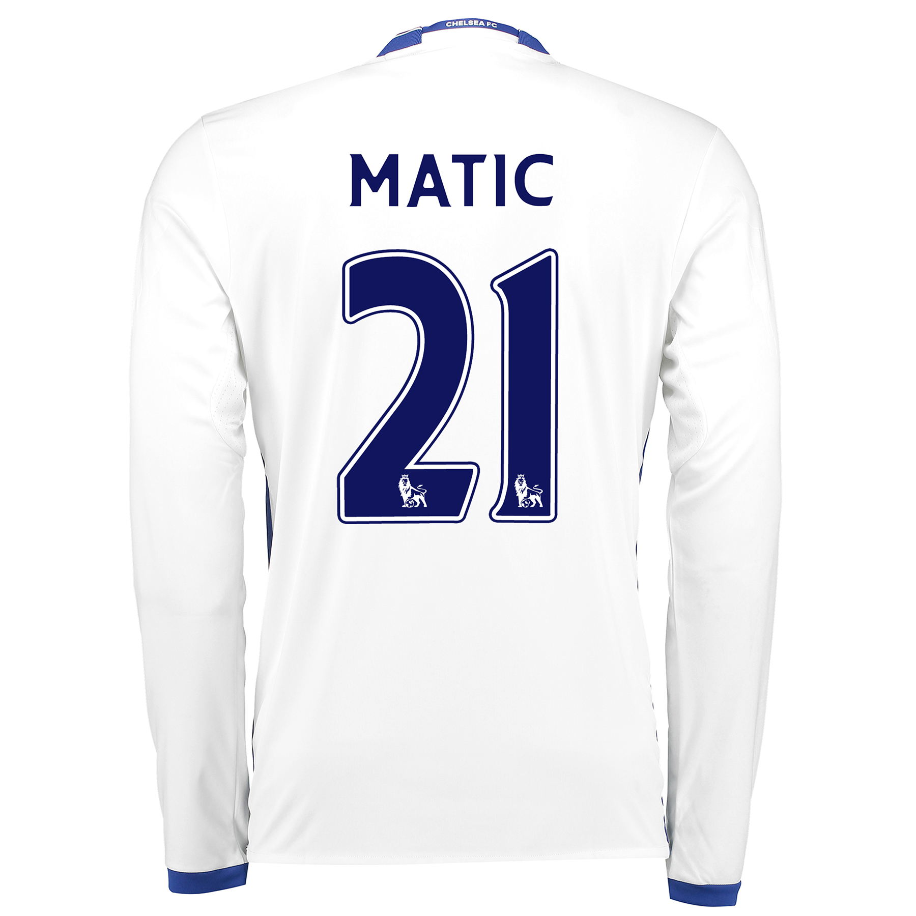 Chelsea Third Shirt 16-17 - Long Sleeve with Matic 21 printing
