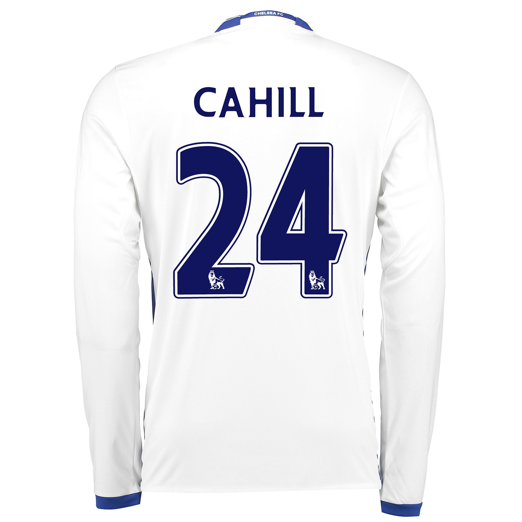 Chelsea Third Shirt 16-17 - Long Sleeve with Cahill 24 printing