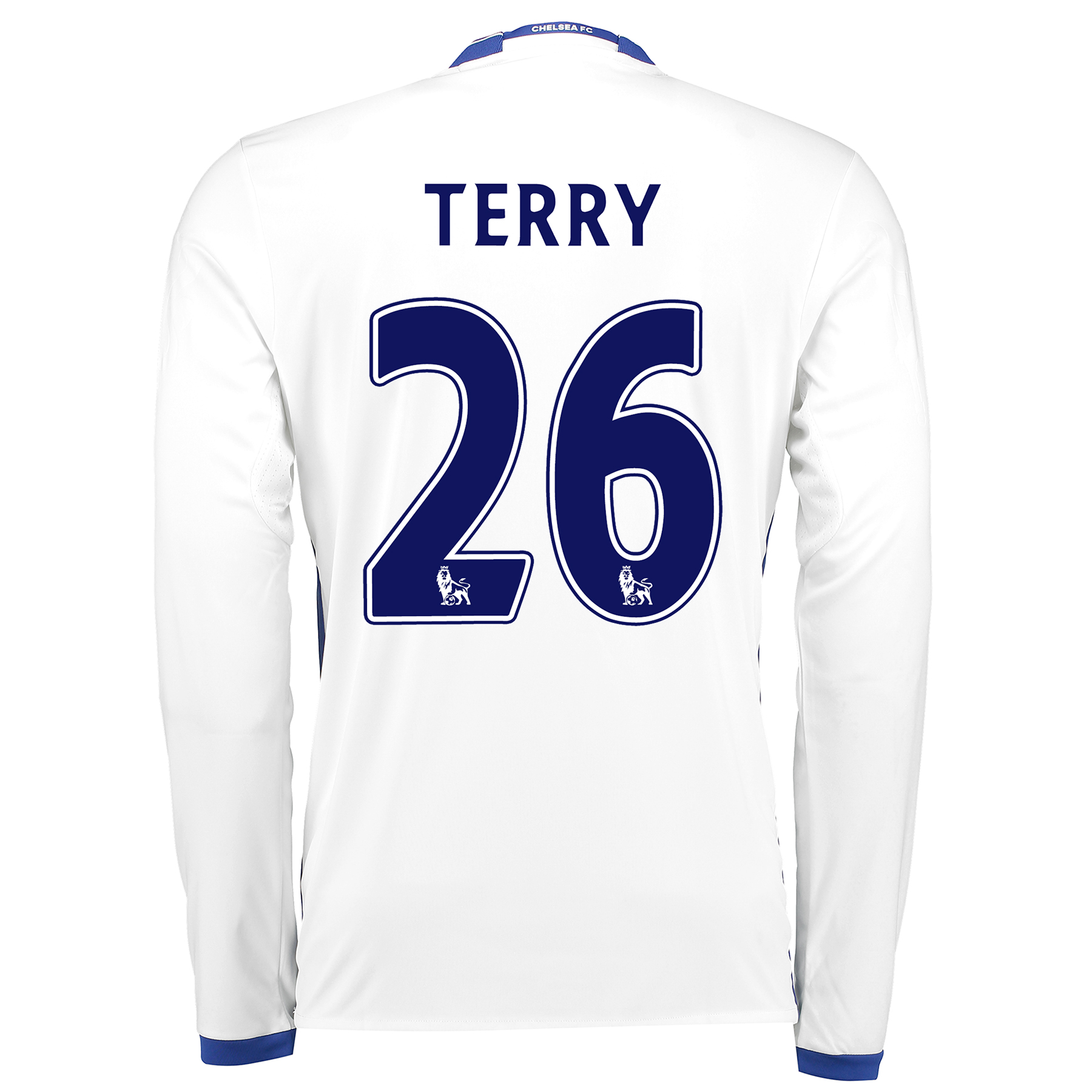 Chelsea Third Shirt 16-17 - Long Sleeve with Terry 26 printing