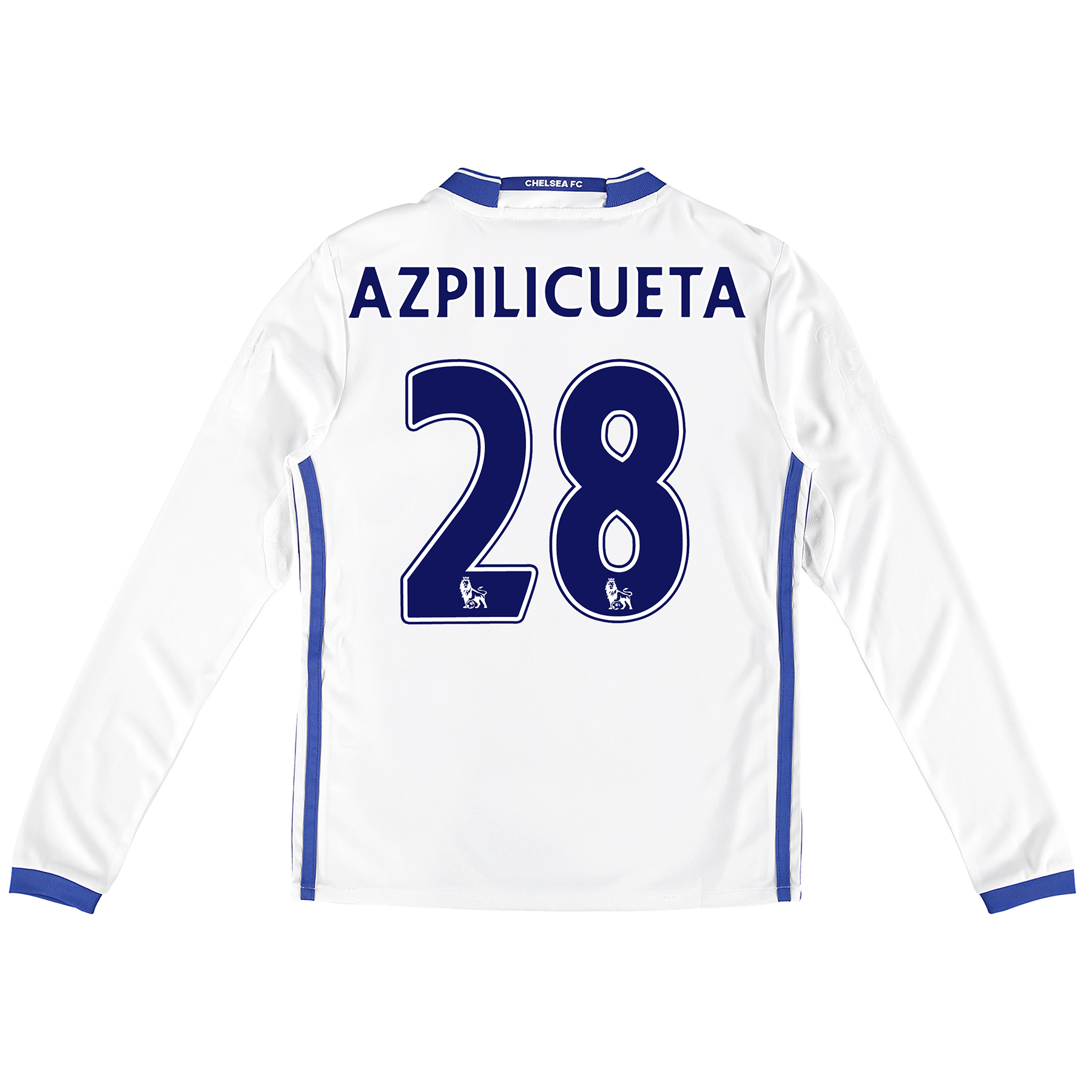 Chelsea Third Shirt 16-17 - Kids - Long Sleeve with Azpilicueta 28 pri