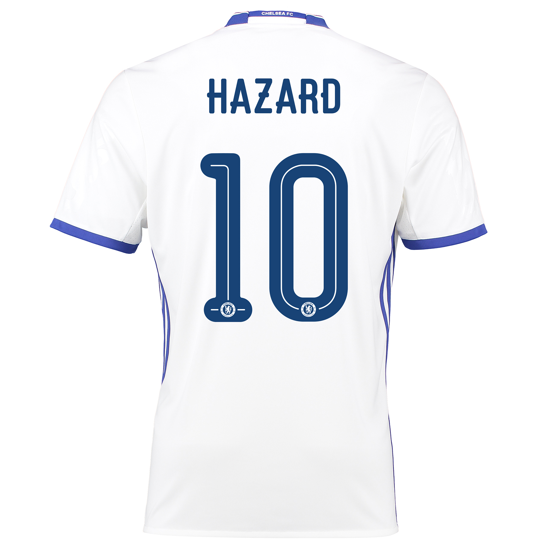 Chelsea Linear Third Shirt 16-17 with Hazard 10 printing