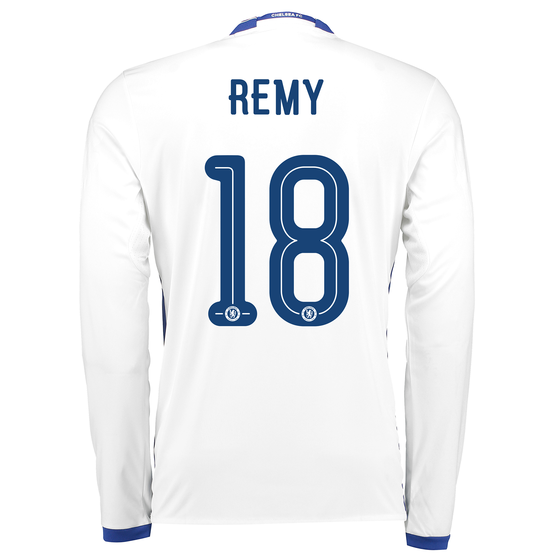Chelsea Linear Third Shirt 16-17 - Long Sleeve with Remy 18 printing