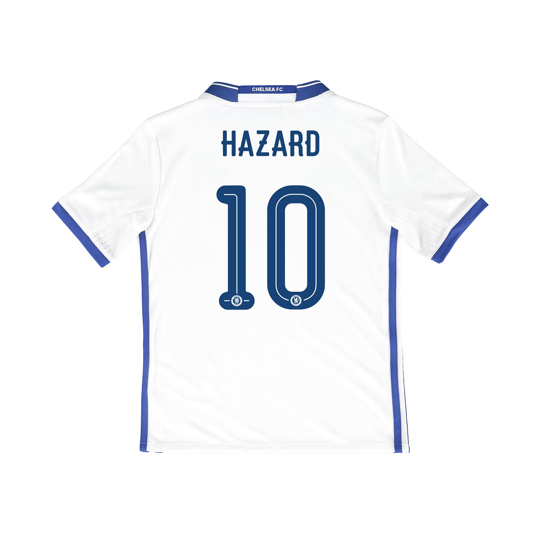 Chelsea Linear Third Shirt 16-17 - Kids with Hazard 10 printing