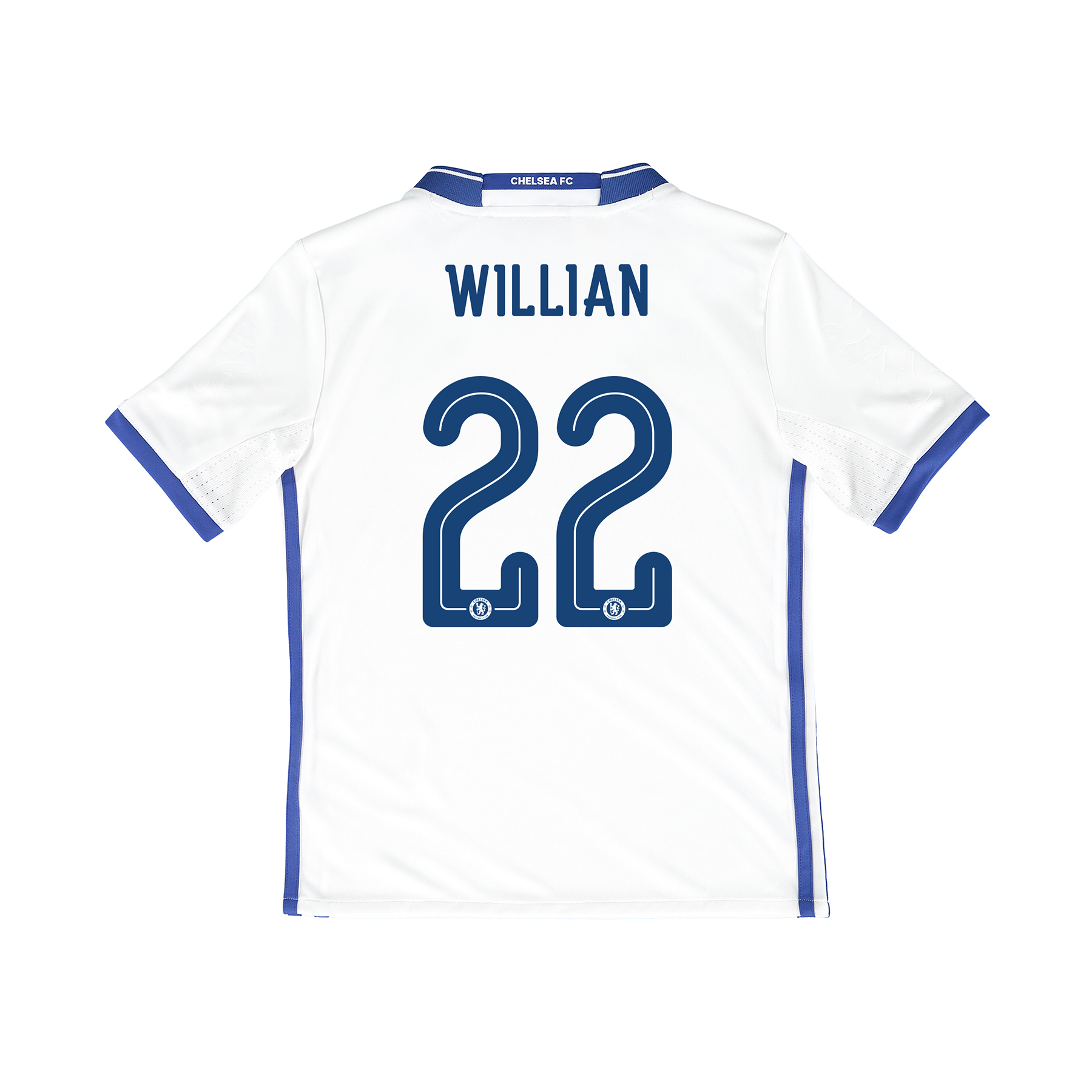 Chelsea Linear Third Shirt 16-17 - Kids with Willian 22 printing