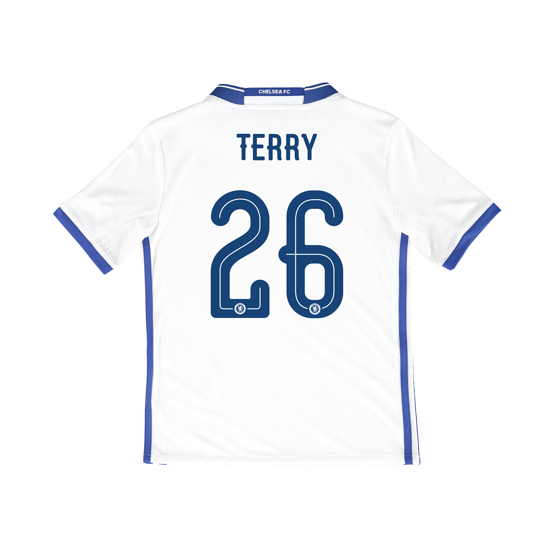 Chelsea Linear Third Shirt 16-17 - Kids with Terry 26 printing