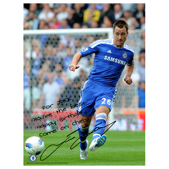 Chelsea Chelsea Personalised John Terry Action 11 Poster