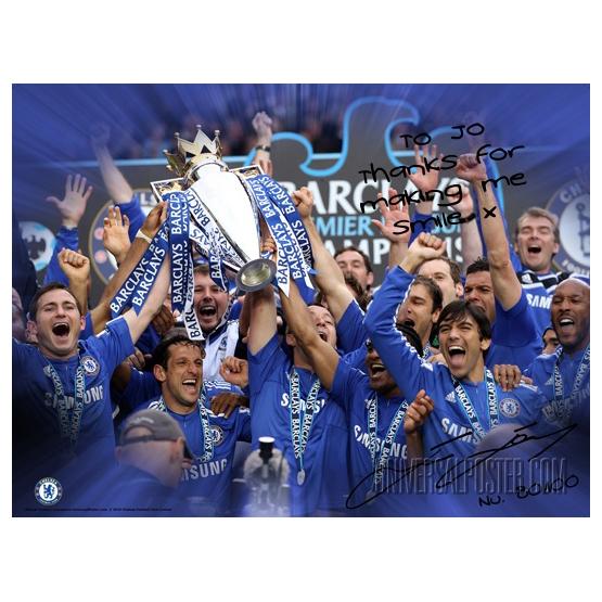 Chelsea Chelsea Personalised John Terry Winners Poster