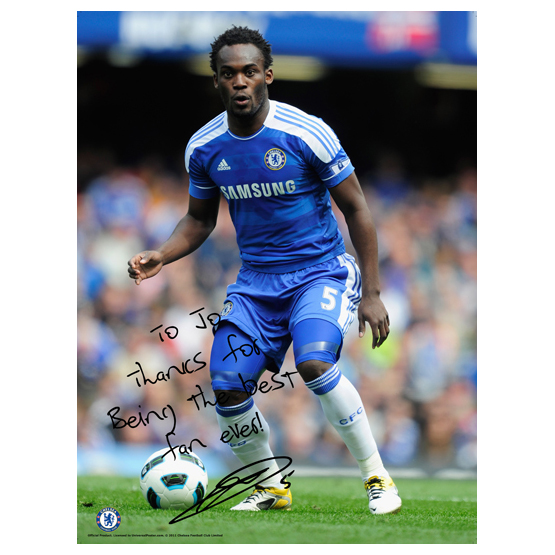 Chelsea Chelsea Personalised Michael Essien Action 10 Poster