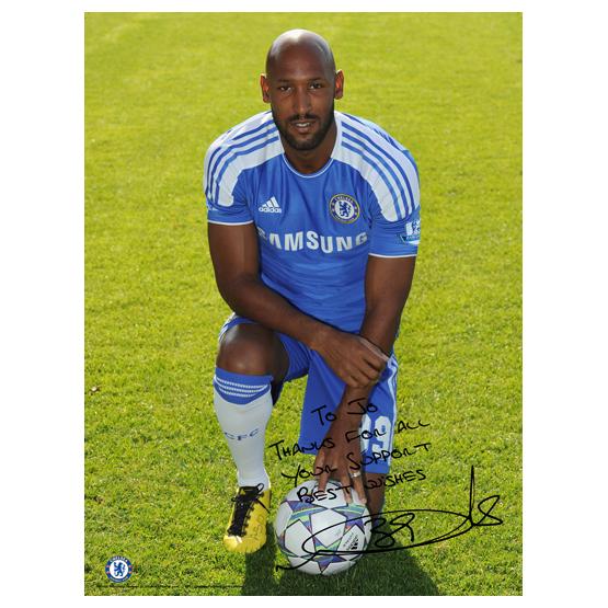 Chelsea Chelsea Personalised Nicolas Anelka Photcall 6 Poster