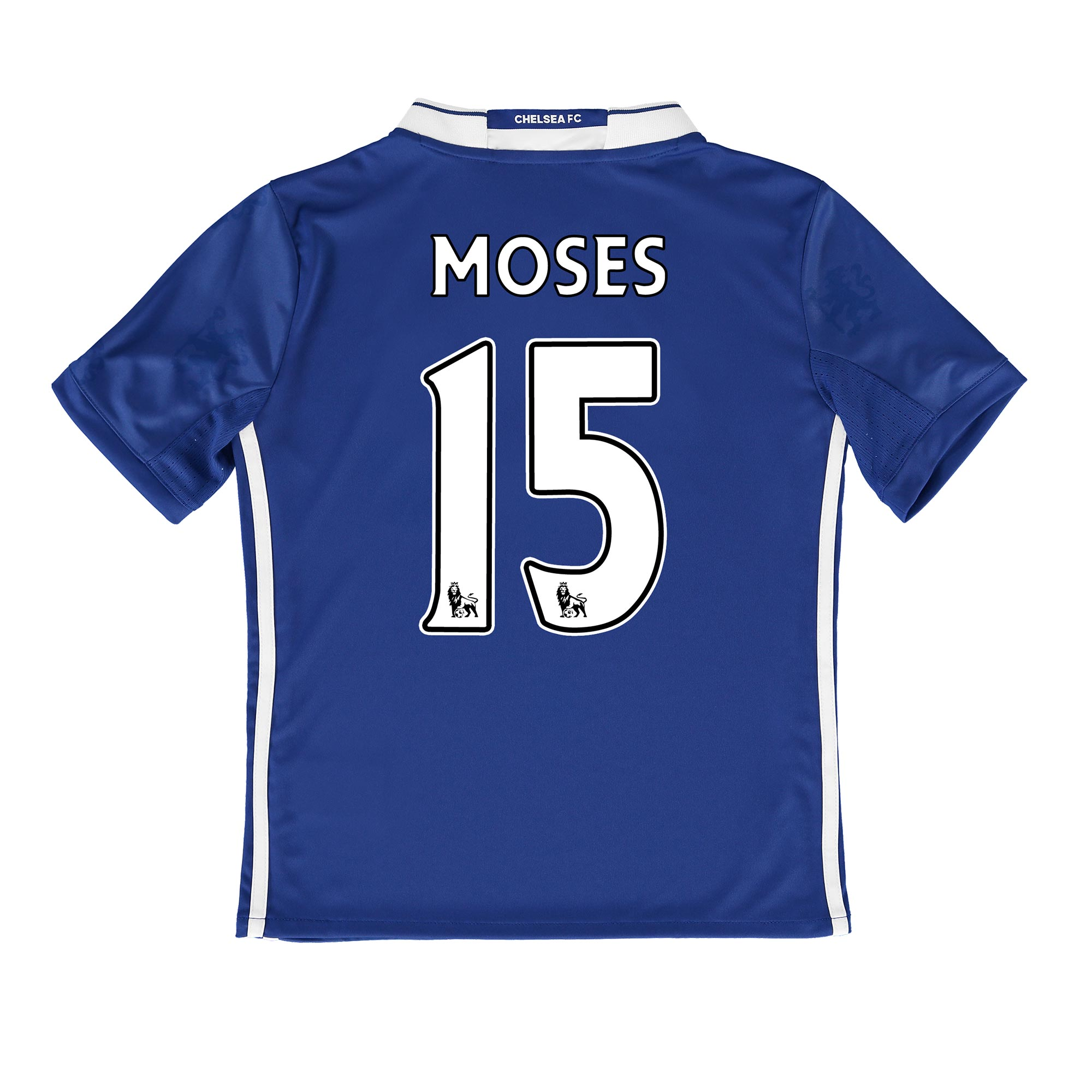 Chelsea Home Shirt 2016-17 - Kids with Moses 15 printing