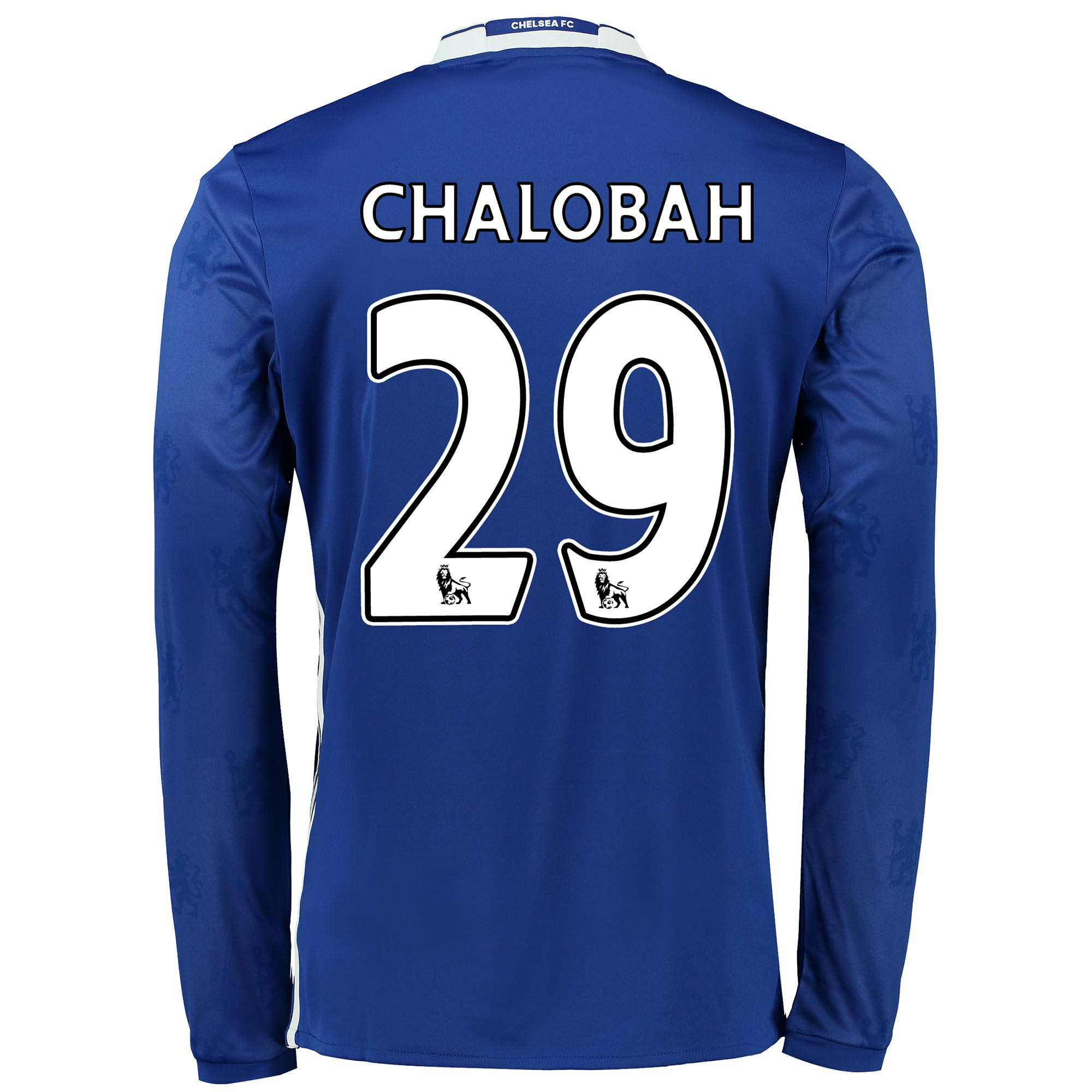 Chelsea Home Shirt 2016-17 - Kids - Long Sleeve with Chalobah 29 print