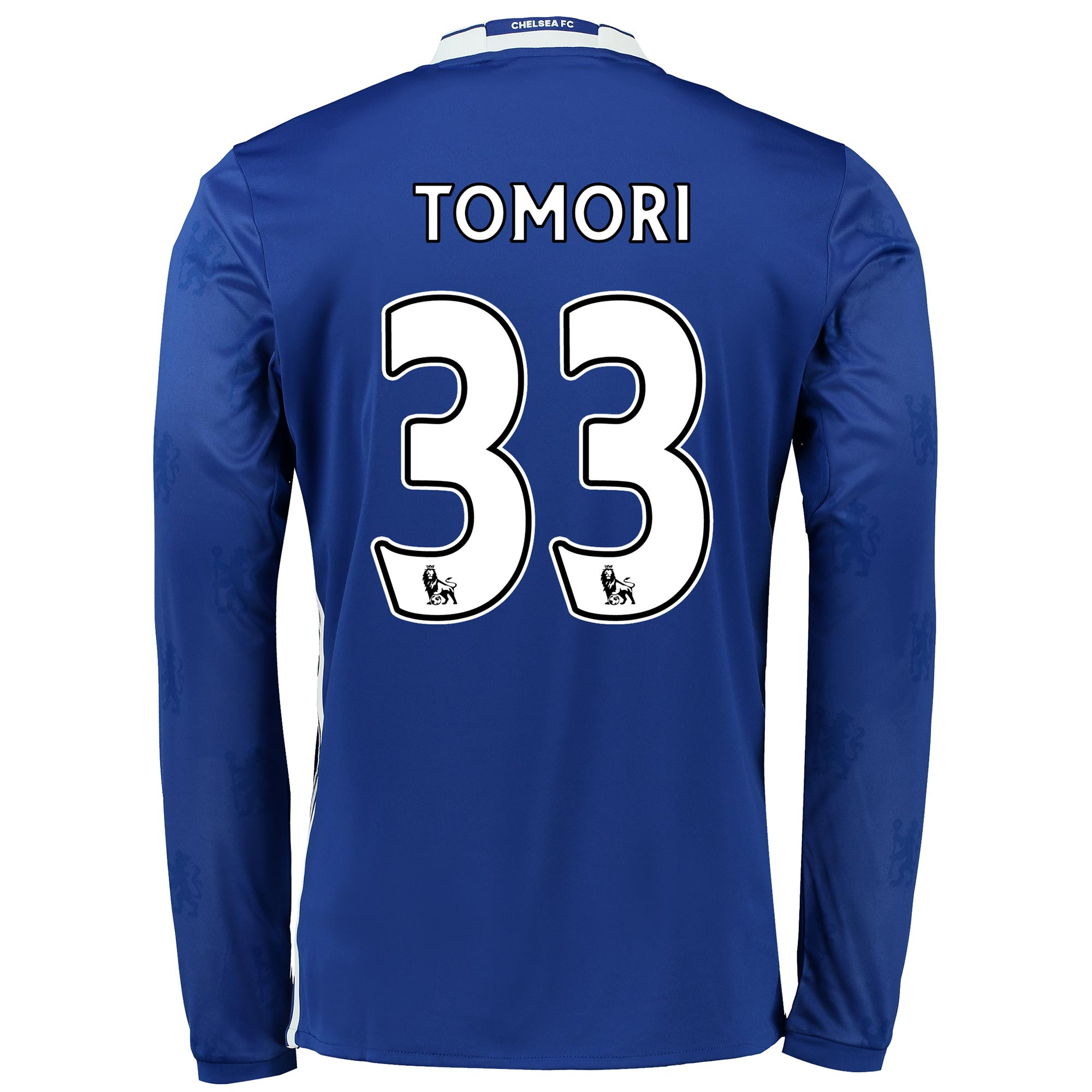 Chelsea Home Shirt 2016-17 - Kids - Long Sleeve with Tomori 33 printin