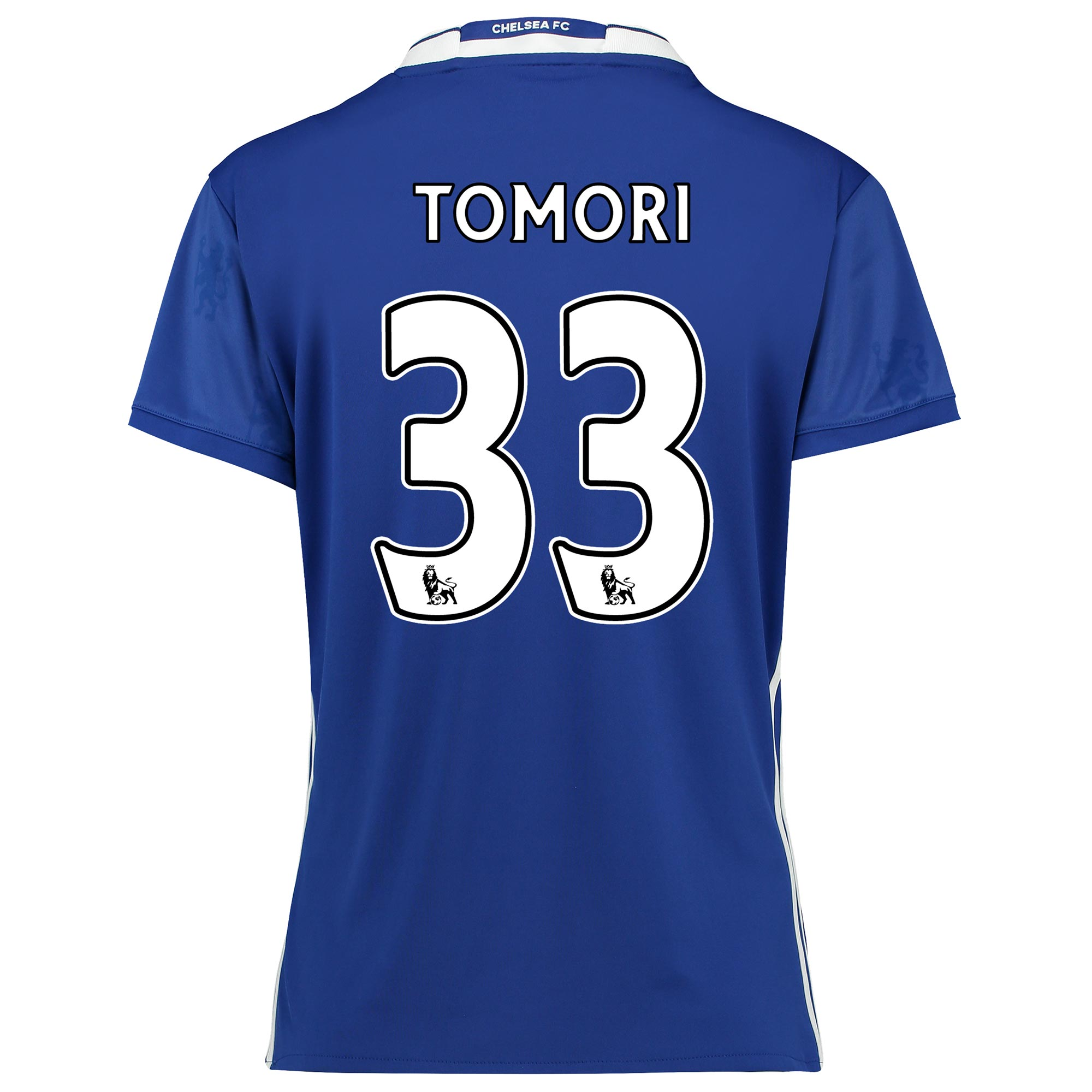 Chelsea Home Shirt 2016-17 - Womens Fit with Tomori 33 printing