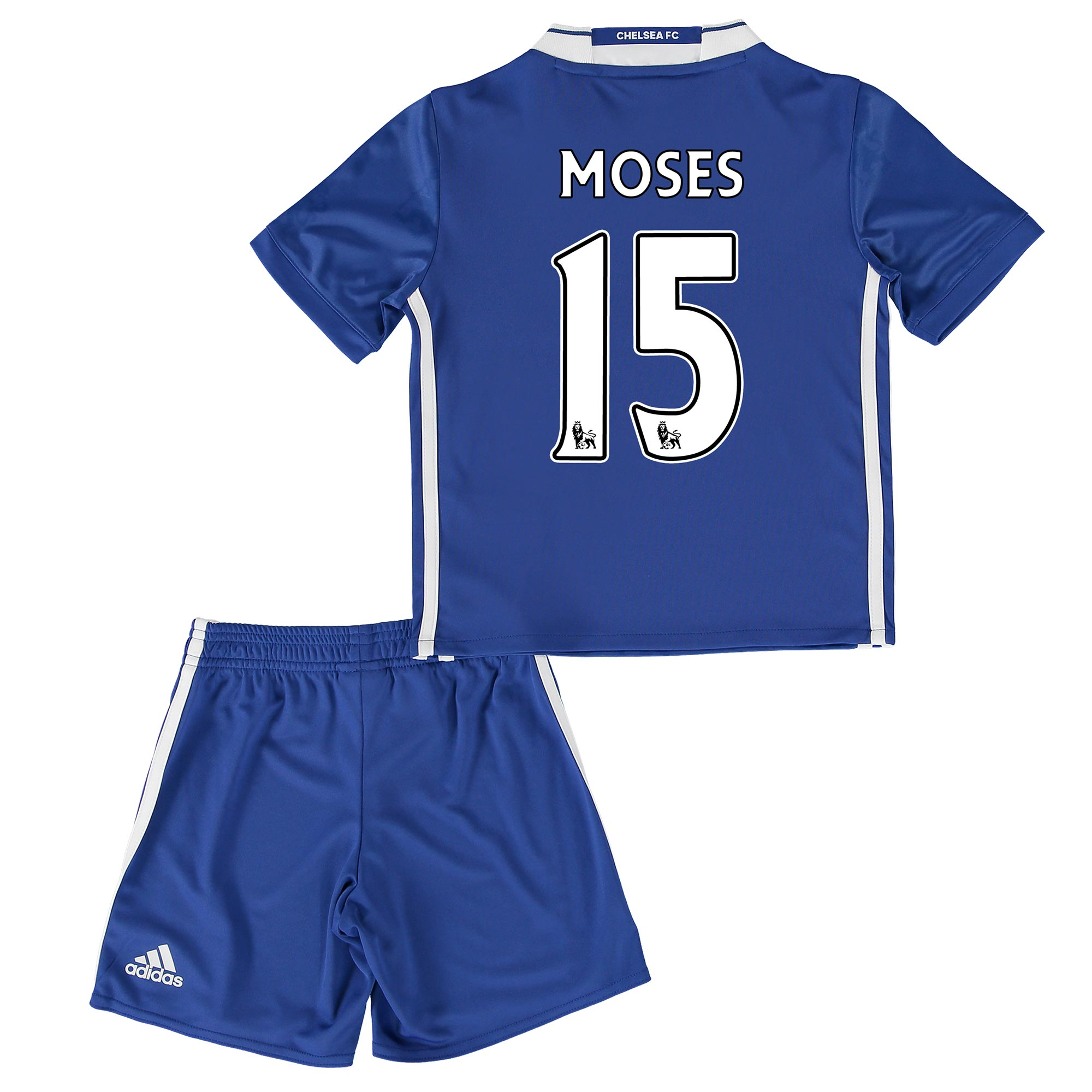 Chelsea Home Mini Kit 2016-17 with Moses 15 printing
