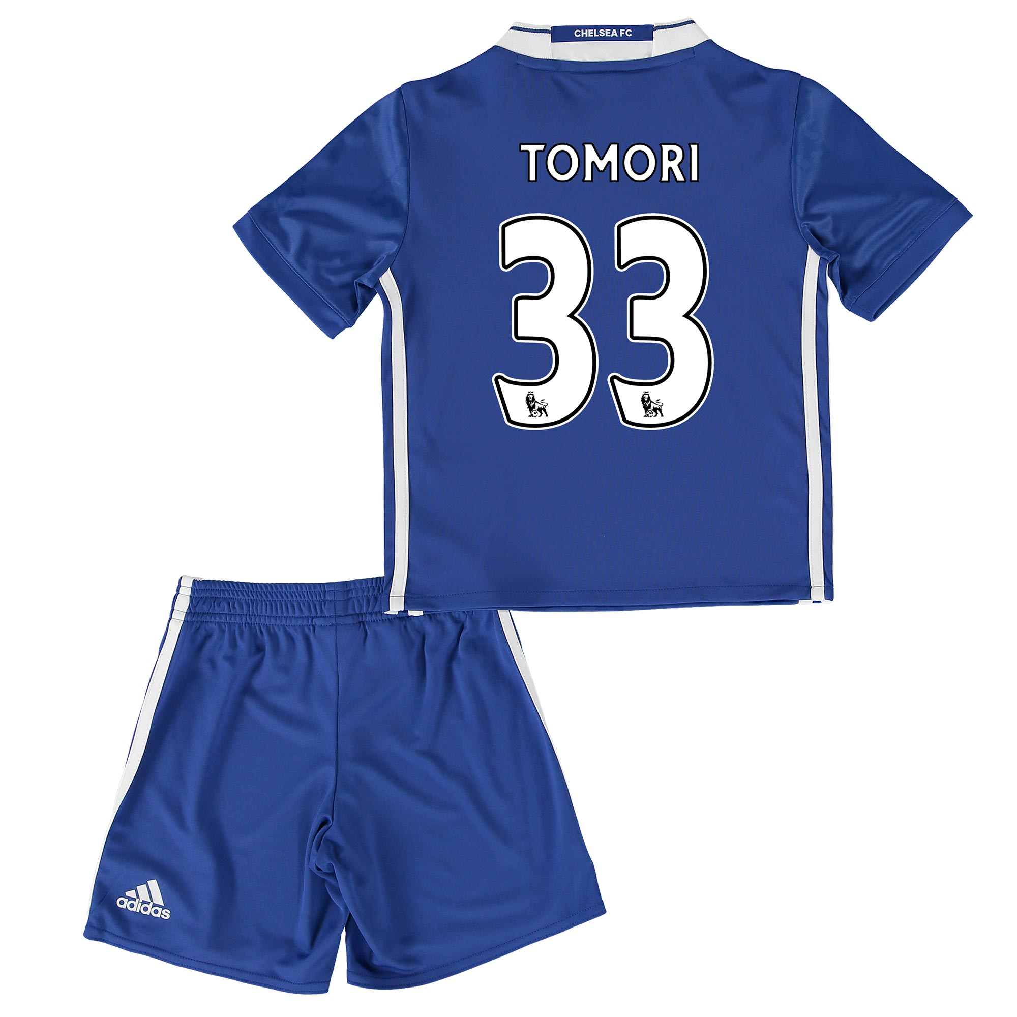 Chelsea Home Mini Kit 2016-17 with Tomori 33 printing