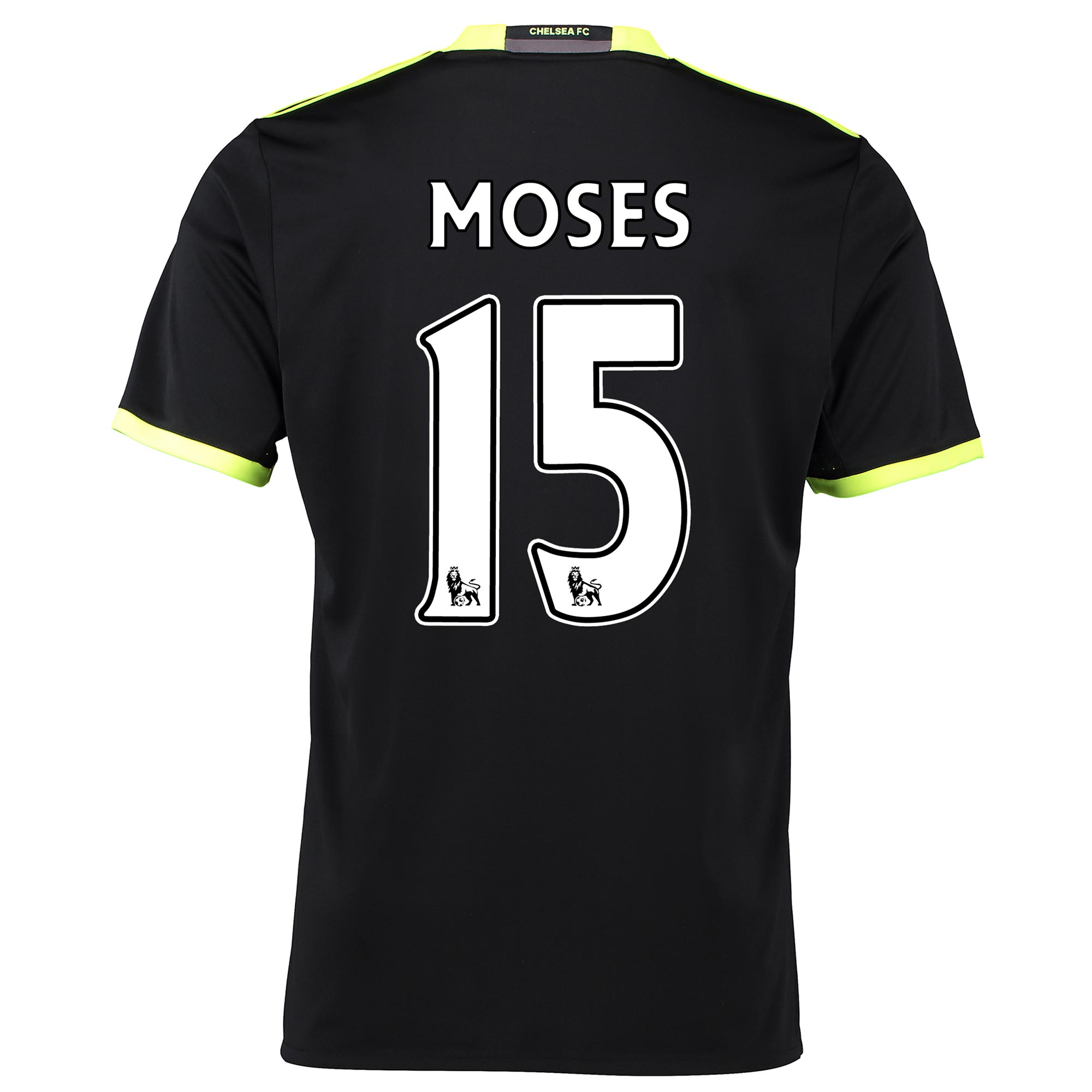 Chelsea Away Shirt 16-17 with Moses 15 printing
