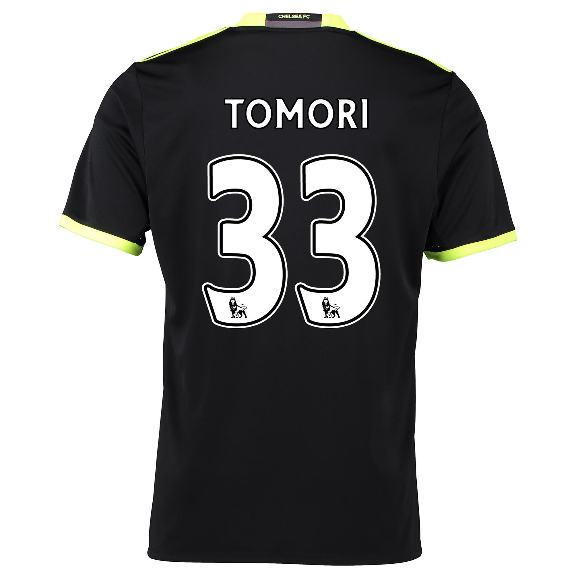Chelsea Away Shirt 16-17 with Tomori 33 printing