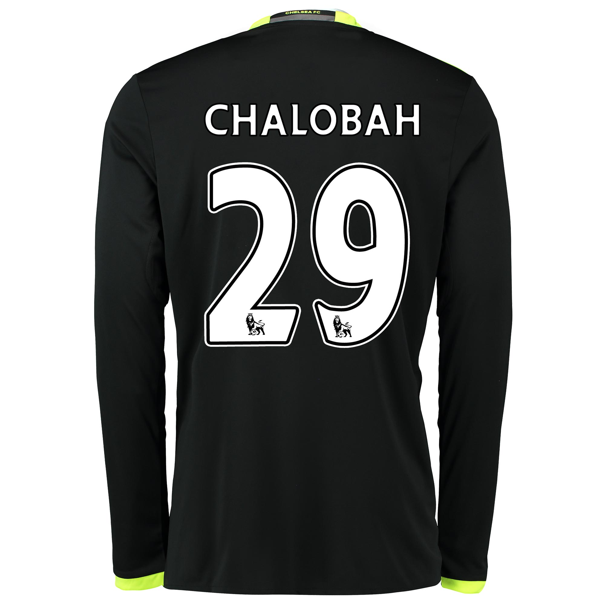 Chelsea Away Shirt 16-17 - Long Sleeve with Chalobah 29 printing