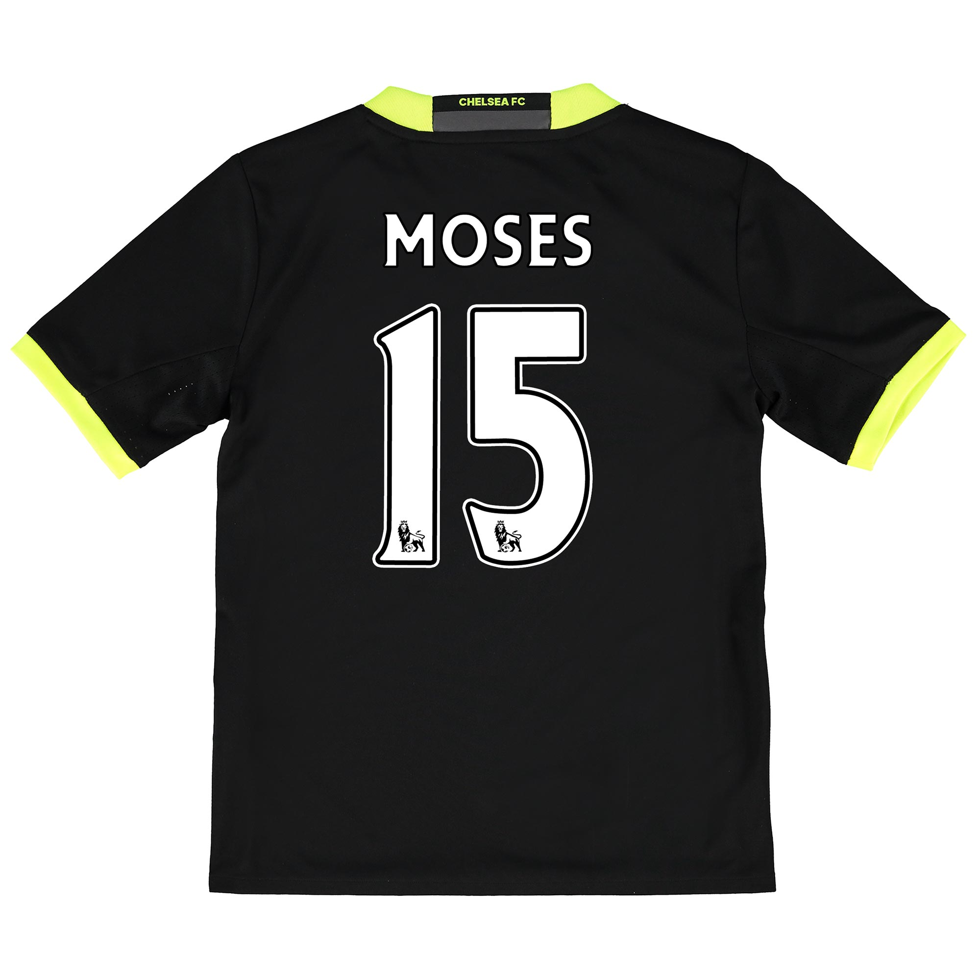 Chelsea Away Shirt 16-17 - Kids with Moses 15 printing