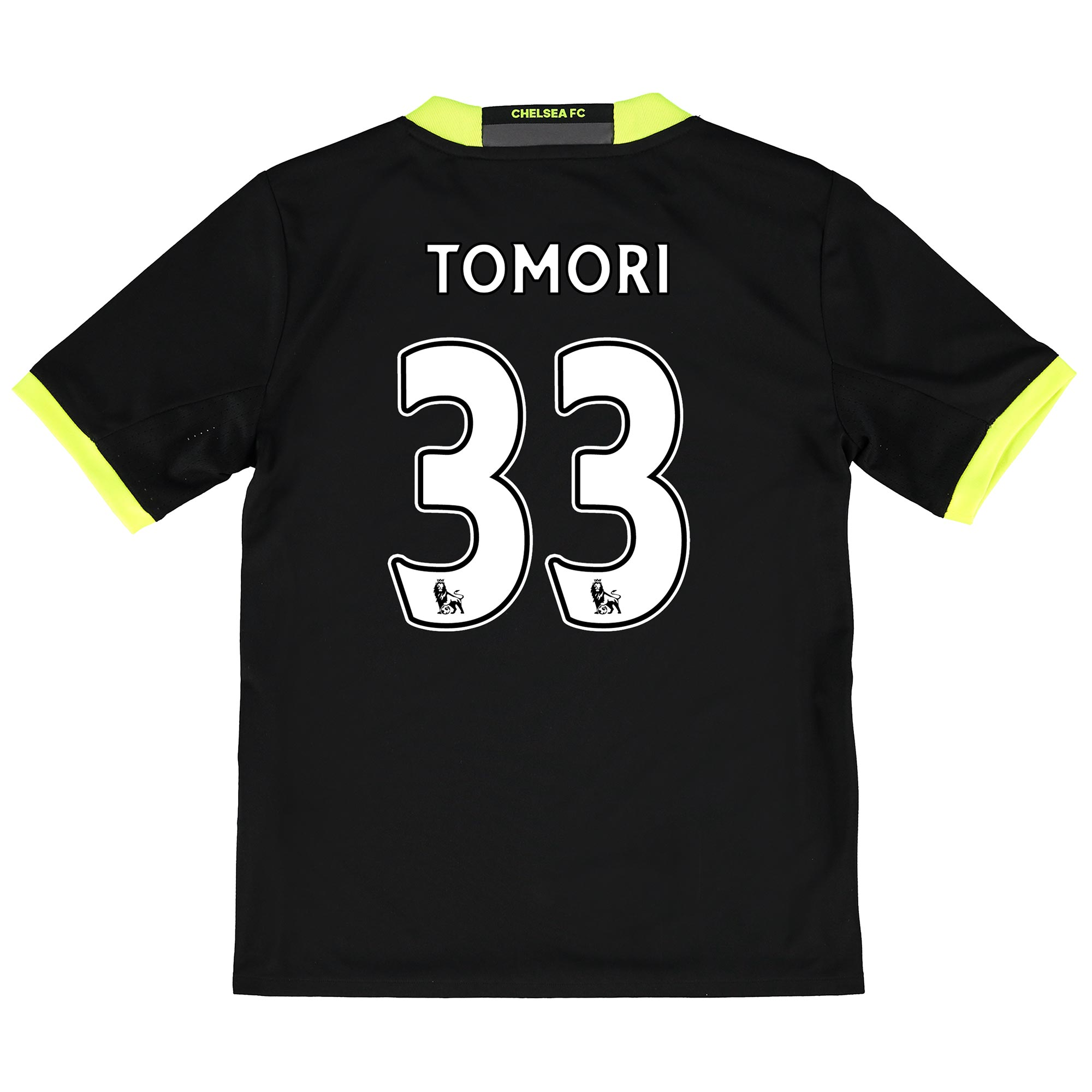 Chelsea Away Shirt 16-17 - Kids with Tomori 33 printing