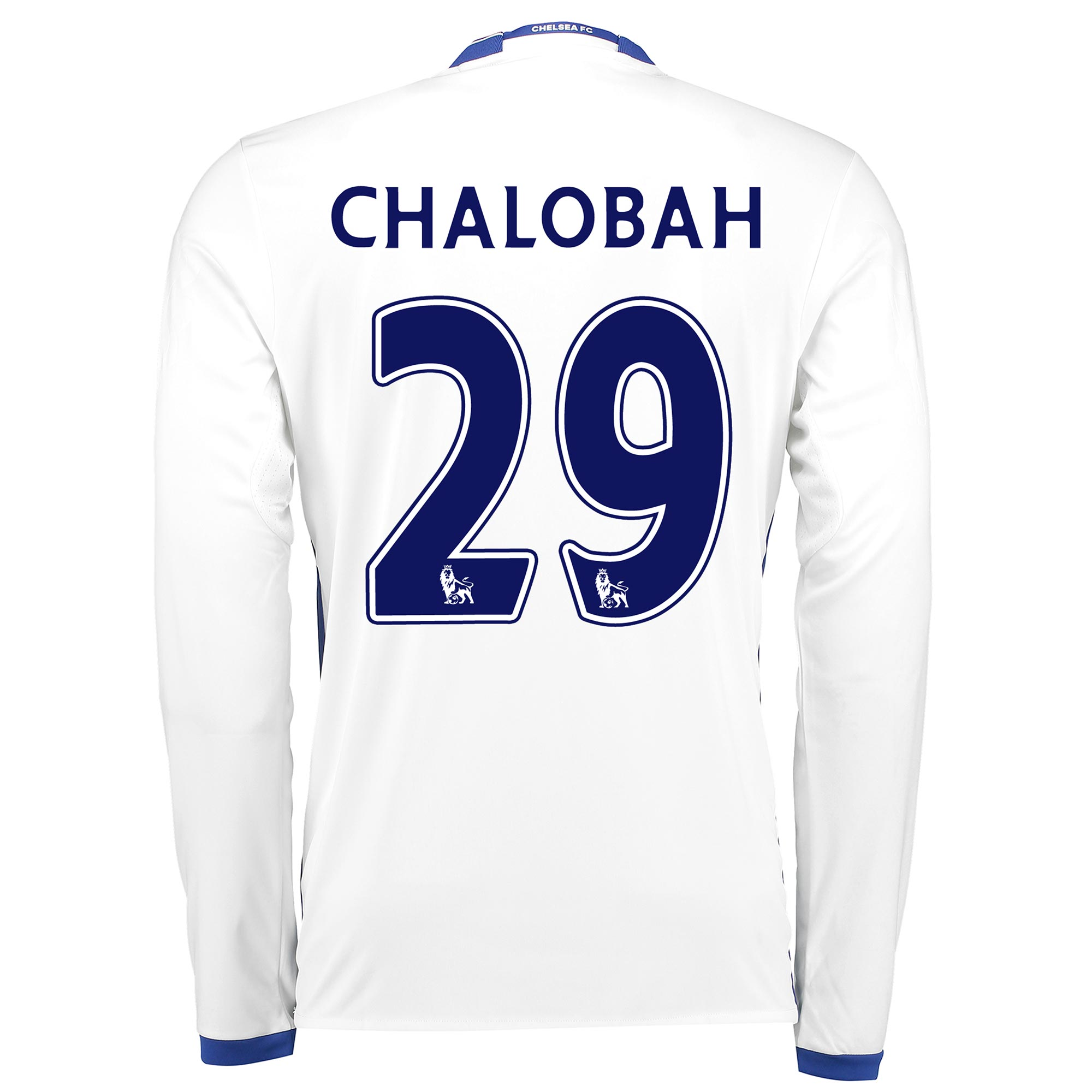 Chelsea Third Shirt 16-17 - Long Sleeve with Chalobah 29 printing