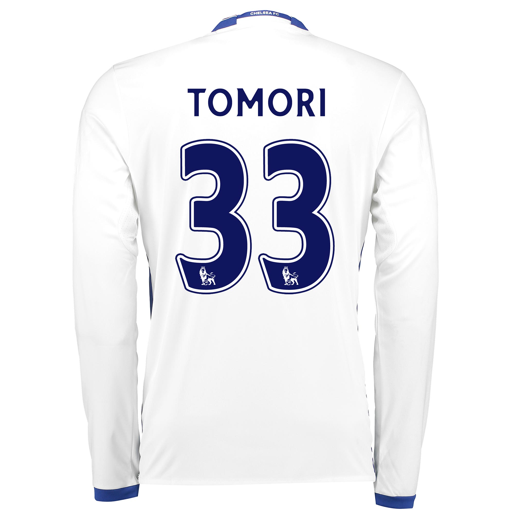 Chelsea Third Shirt 16-17 - Long Sleeve with Tomori 33 printing