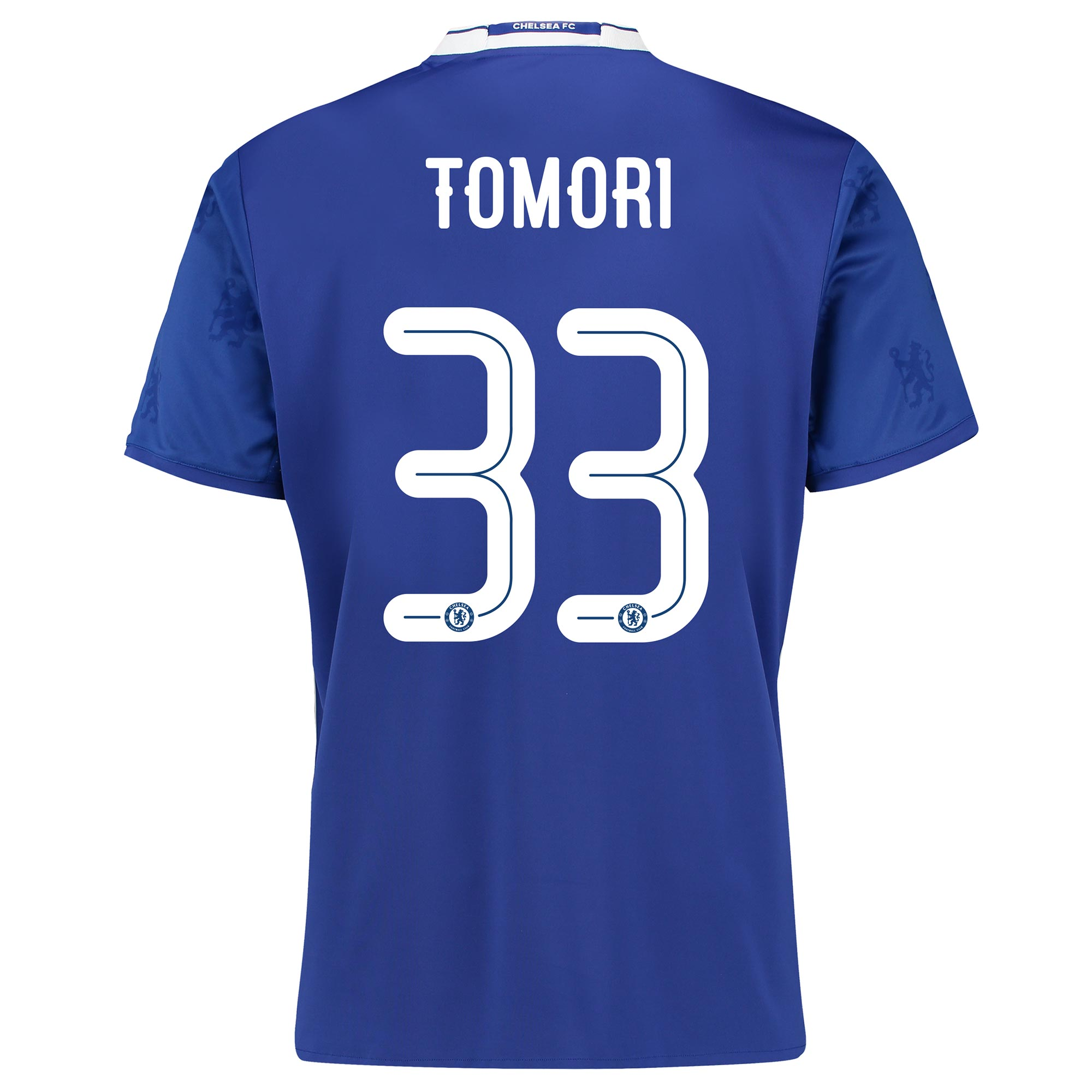 Chelsea Linear Home Shirt 2016-17 with Tomori 33 printing