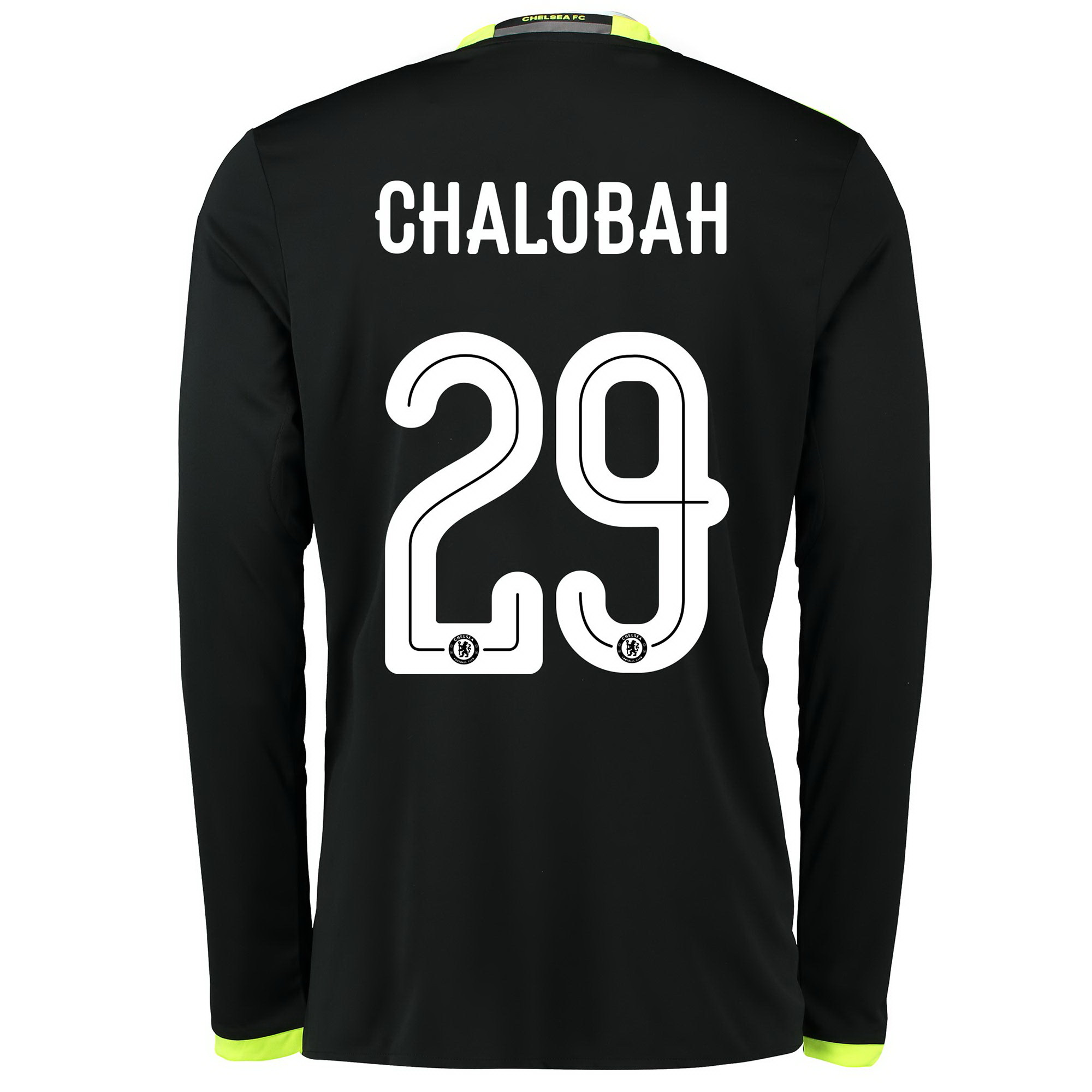 Chelsea Linear Away Shirt 16-17 - Kids - Long Sleeve with Chalobah 29