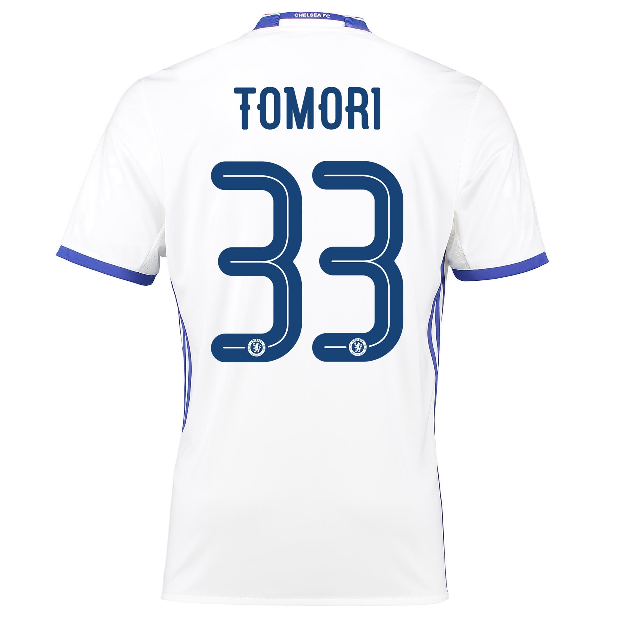 Chelsea Linear Third Shirt 16-17 with Tomori 33 printing
