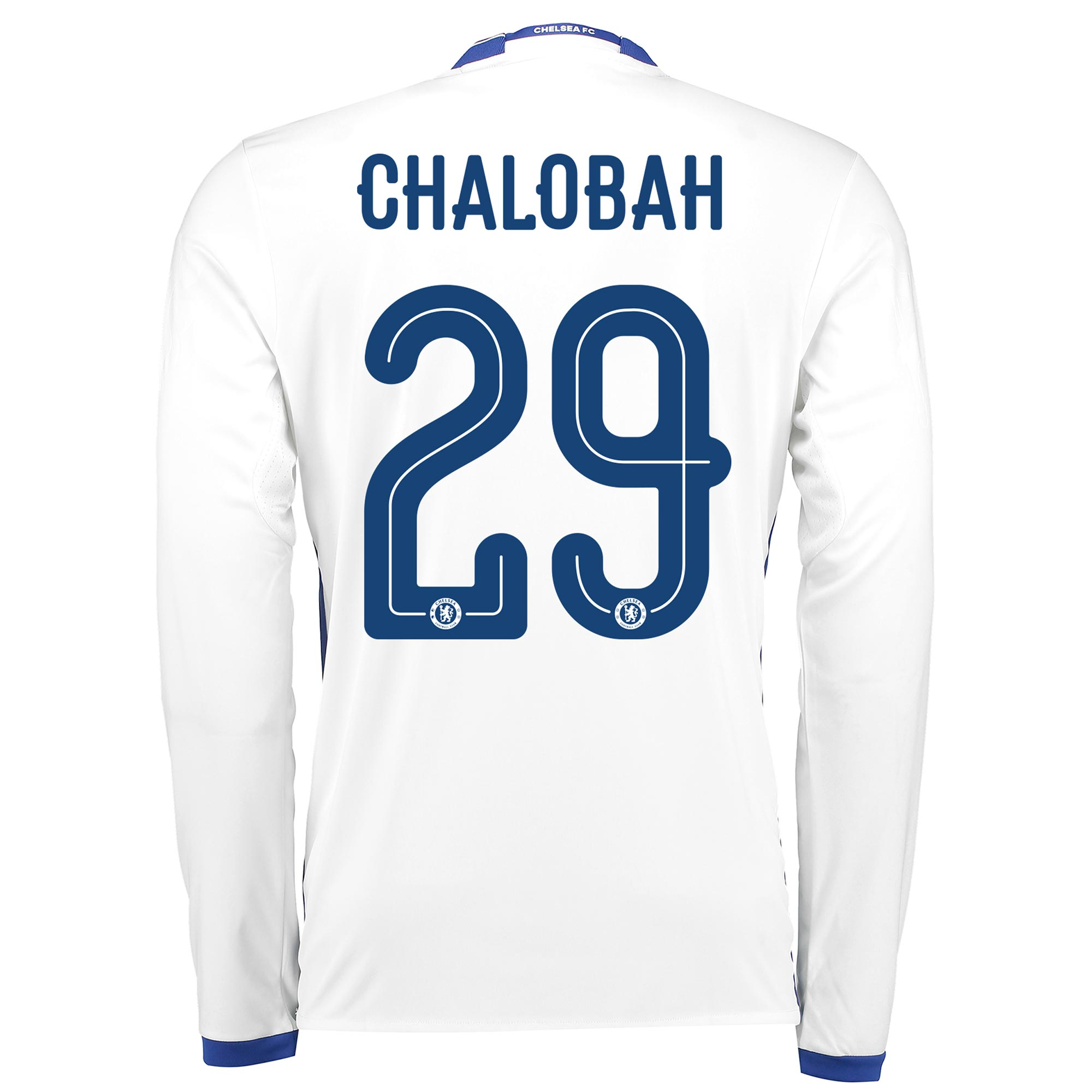 Chelsea Linear Third Shirt 16-17 - Long Sleeve with Chalobah 29 printi