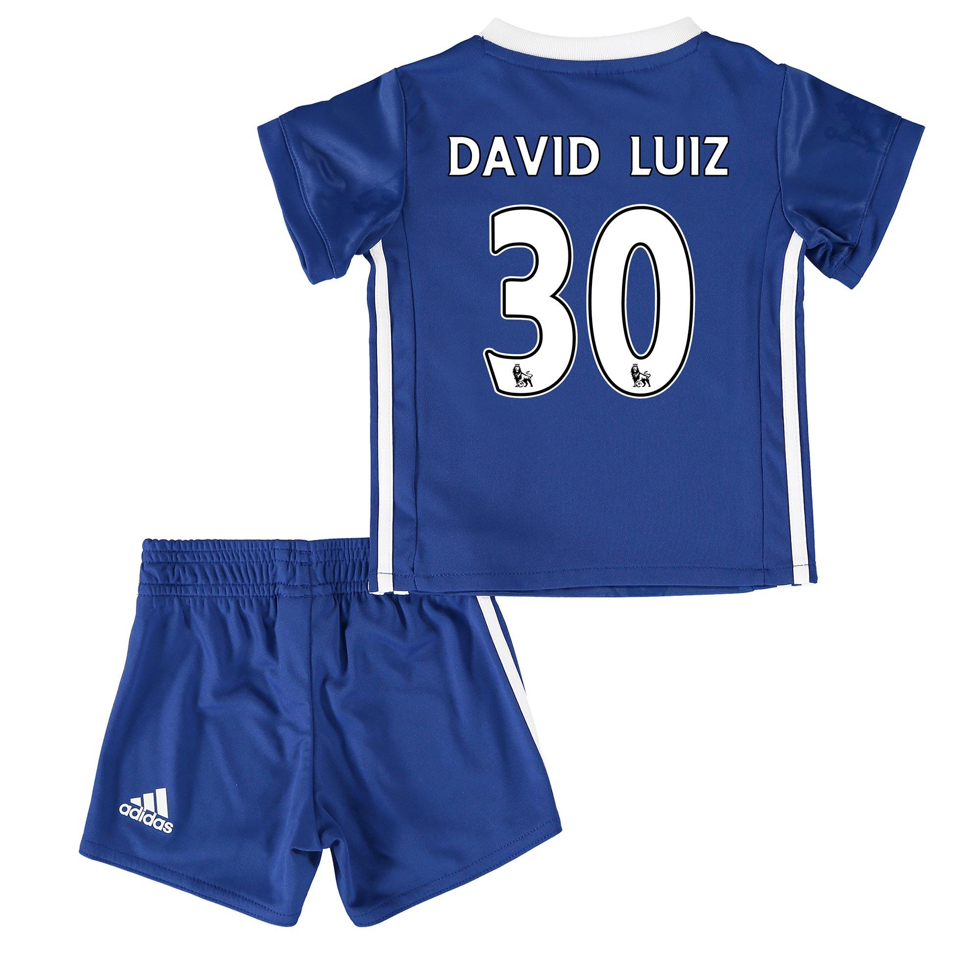 Chelsea Home Baby Kit 2016-17 with David Luiz 30 printing